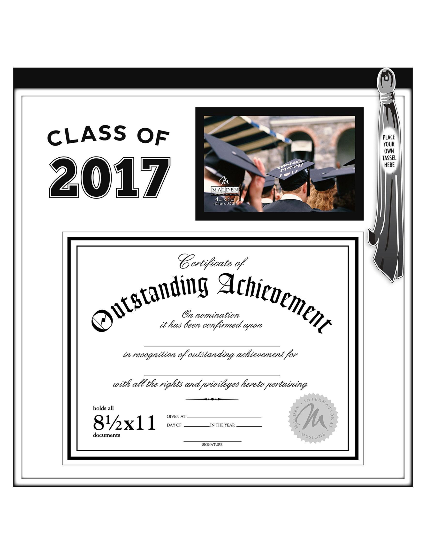 Malden Class of 2017 Graduation Certificate Frame – Graduation Certificate