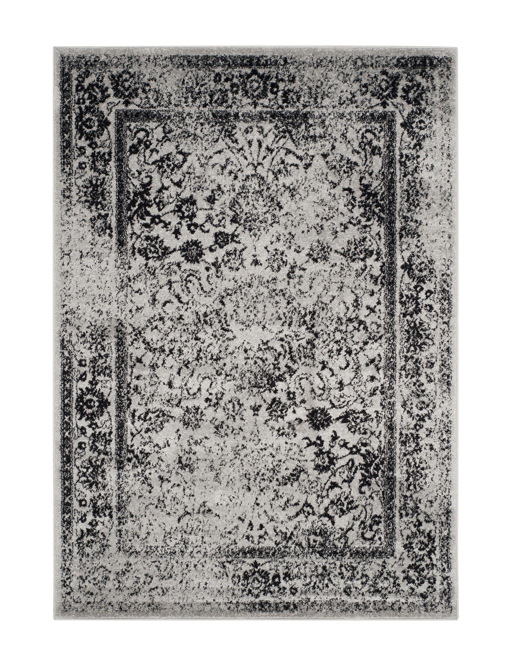 Safavieh Grey / Black Area Rugs Rugs
