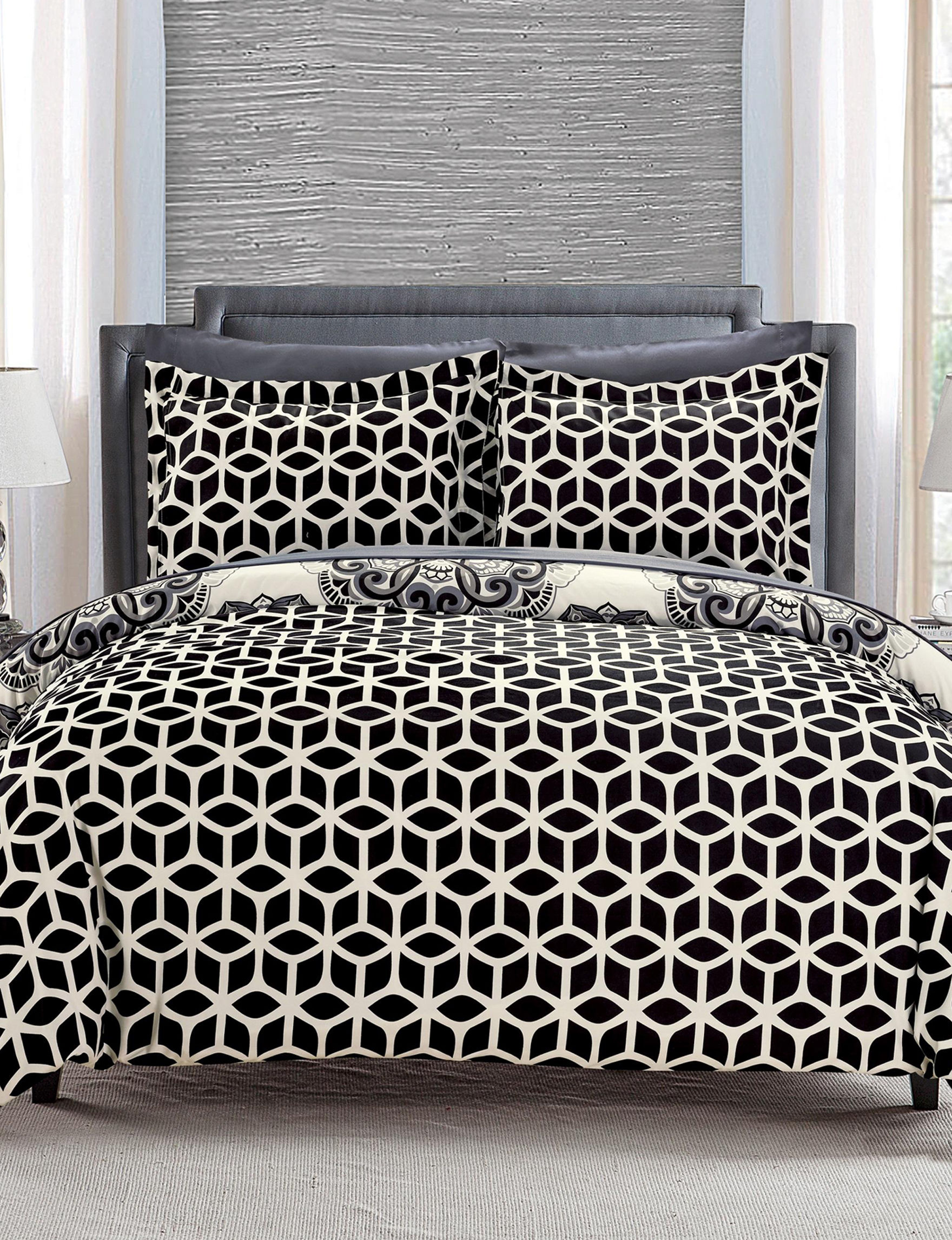 Chic Home Design Black Duvet Duvets & Duvet Sets