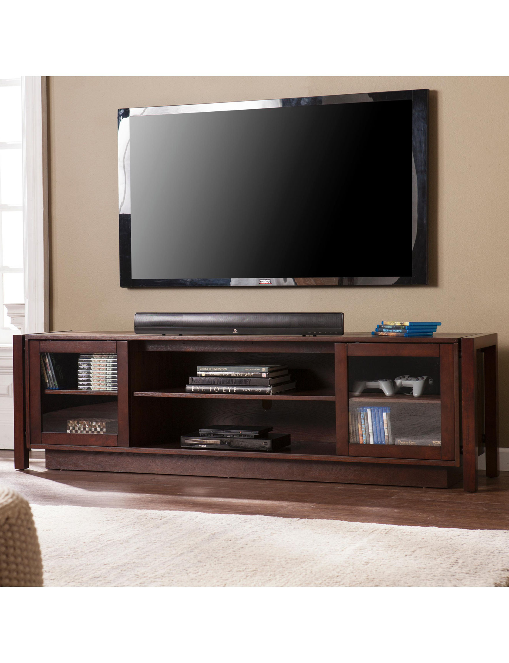 Southern Enterprises Espresso Living Room Furniture