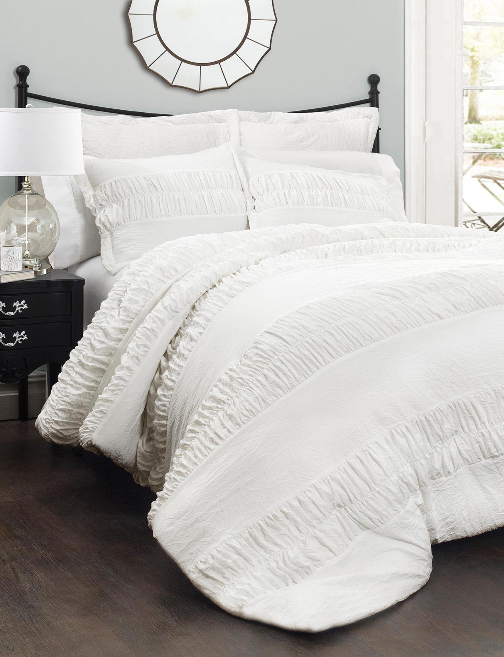 Lush Decor White Comforters & Comforter Sets