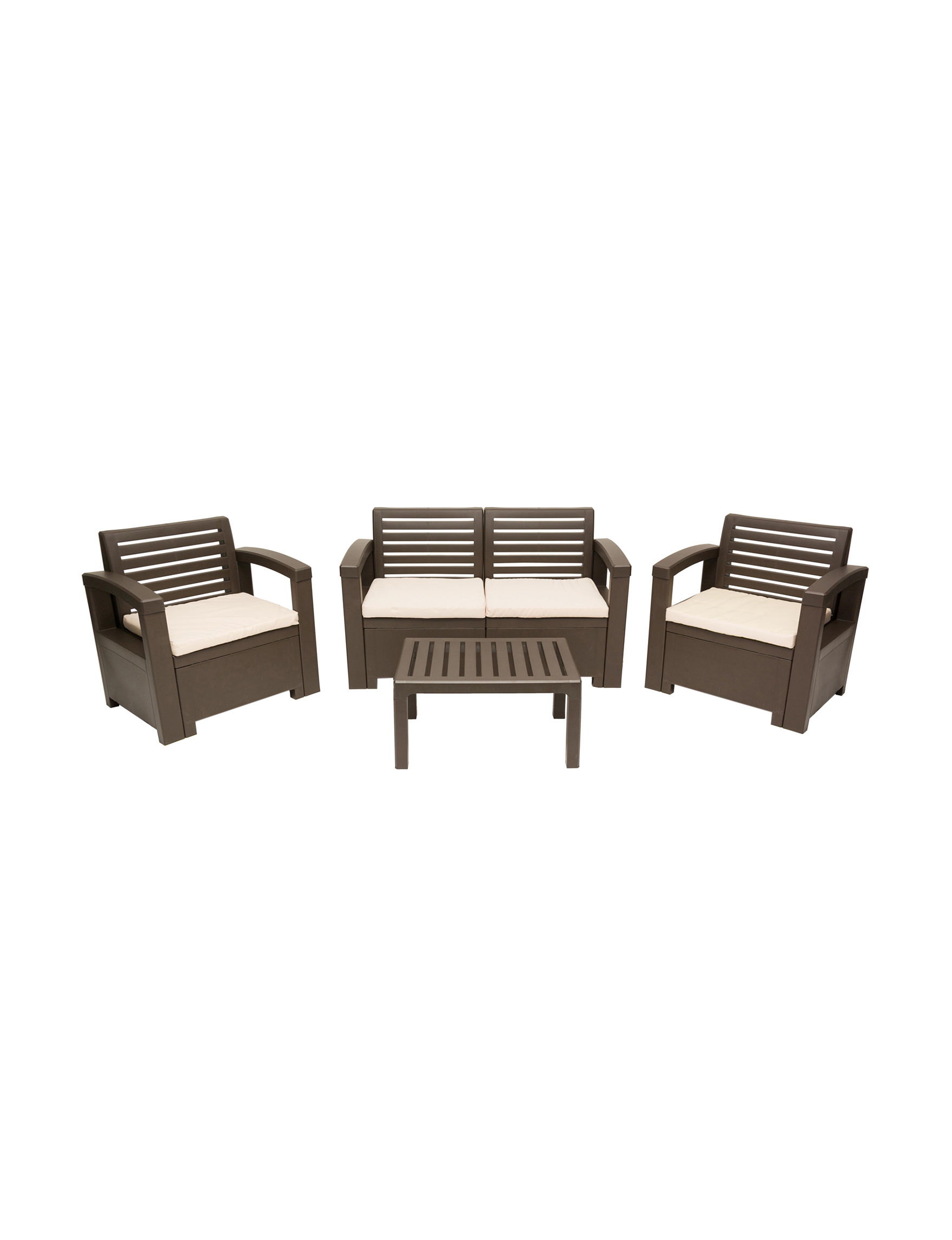 Thy-Hom Brown Patio & Outdoor Furniture