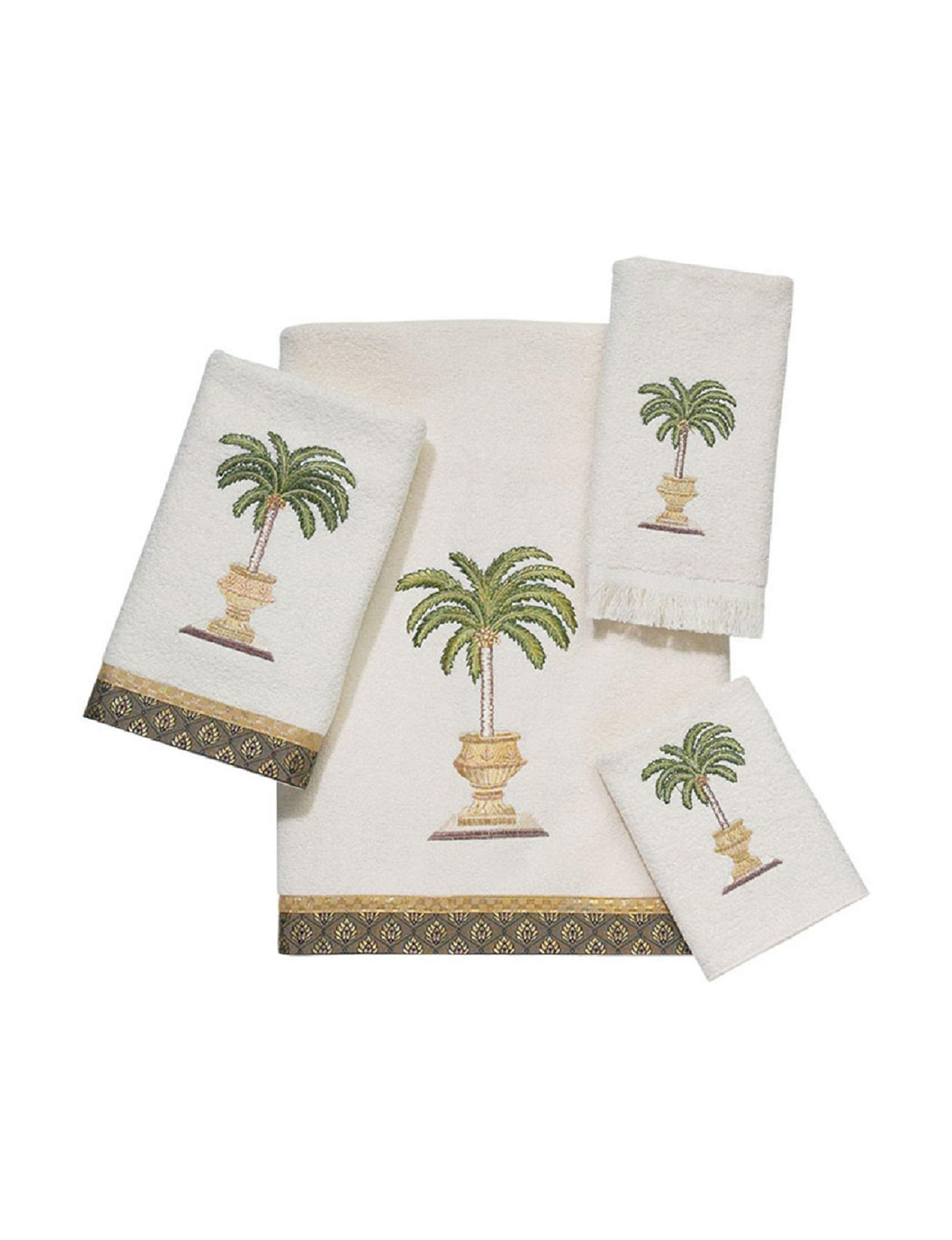 Avanti Ivory Towel Sets Towels