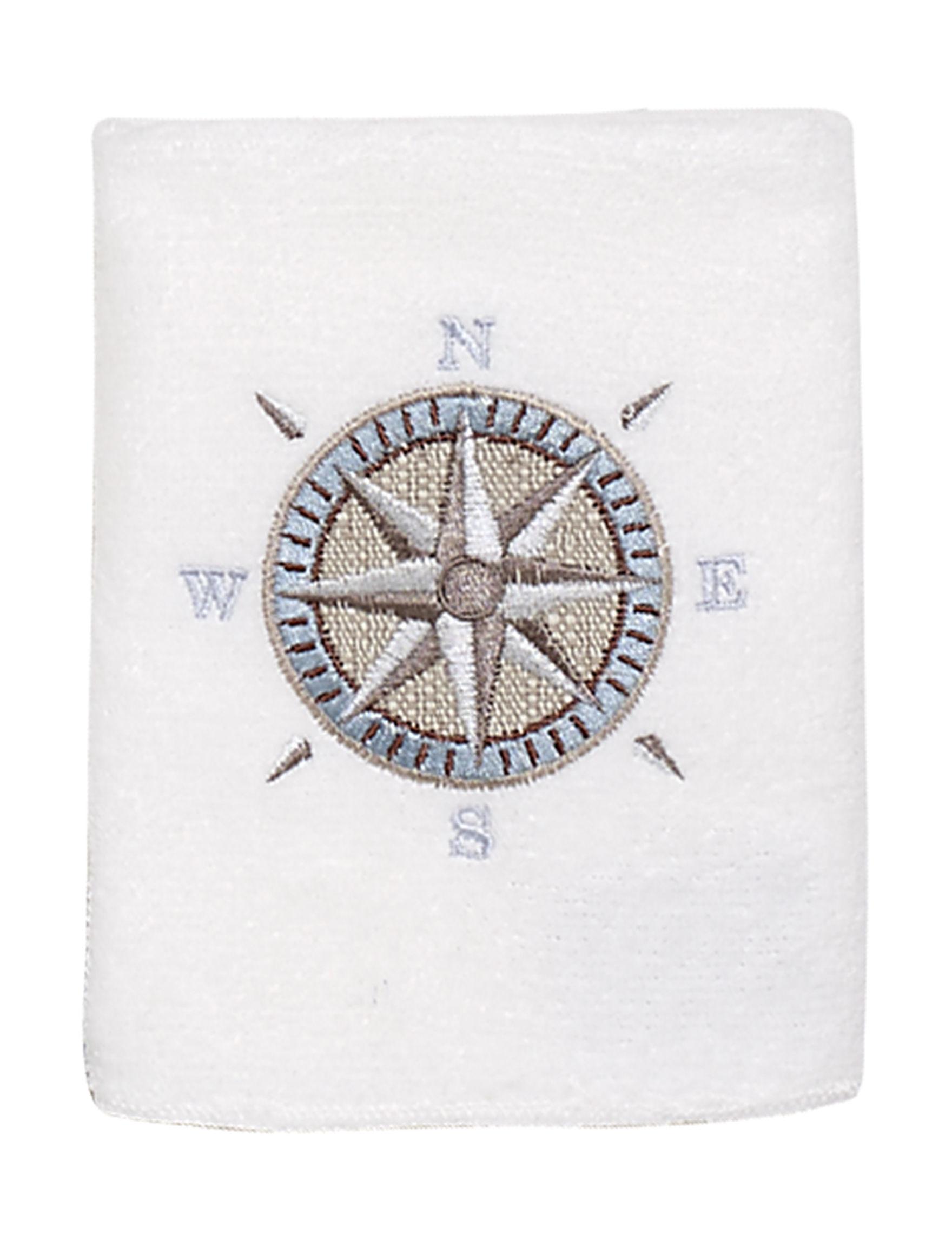 Avanti White Washcloths Towels