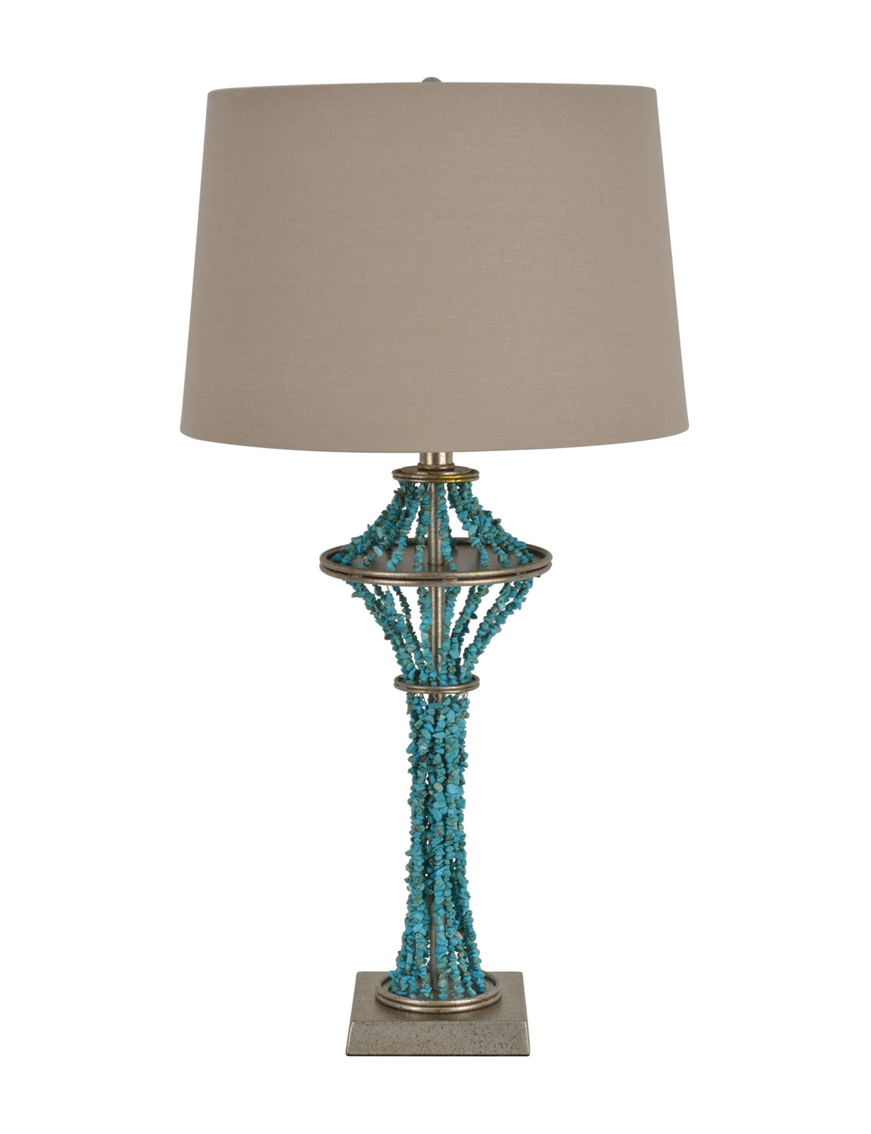 Decor Therapy Turqouise Table Lamps Lighting & Lamps