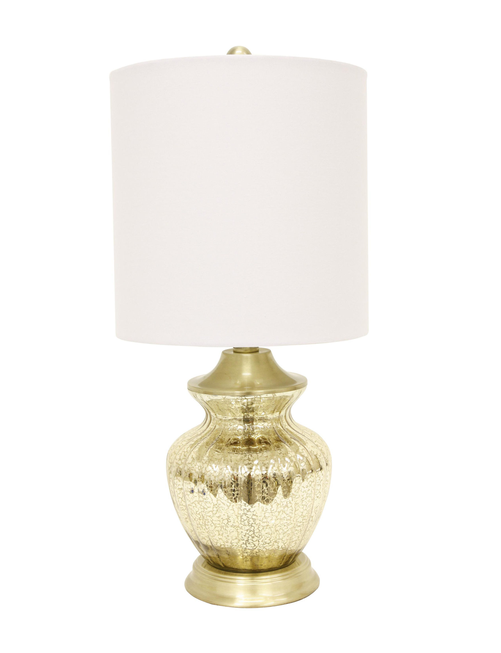 Decor Therapy Gold Table Lamps Lighting & Lamps