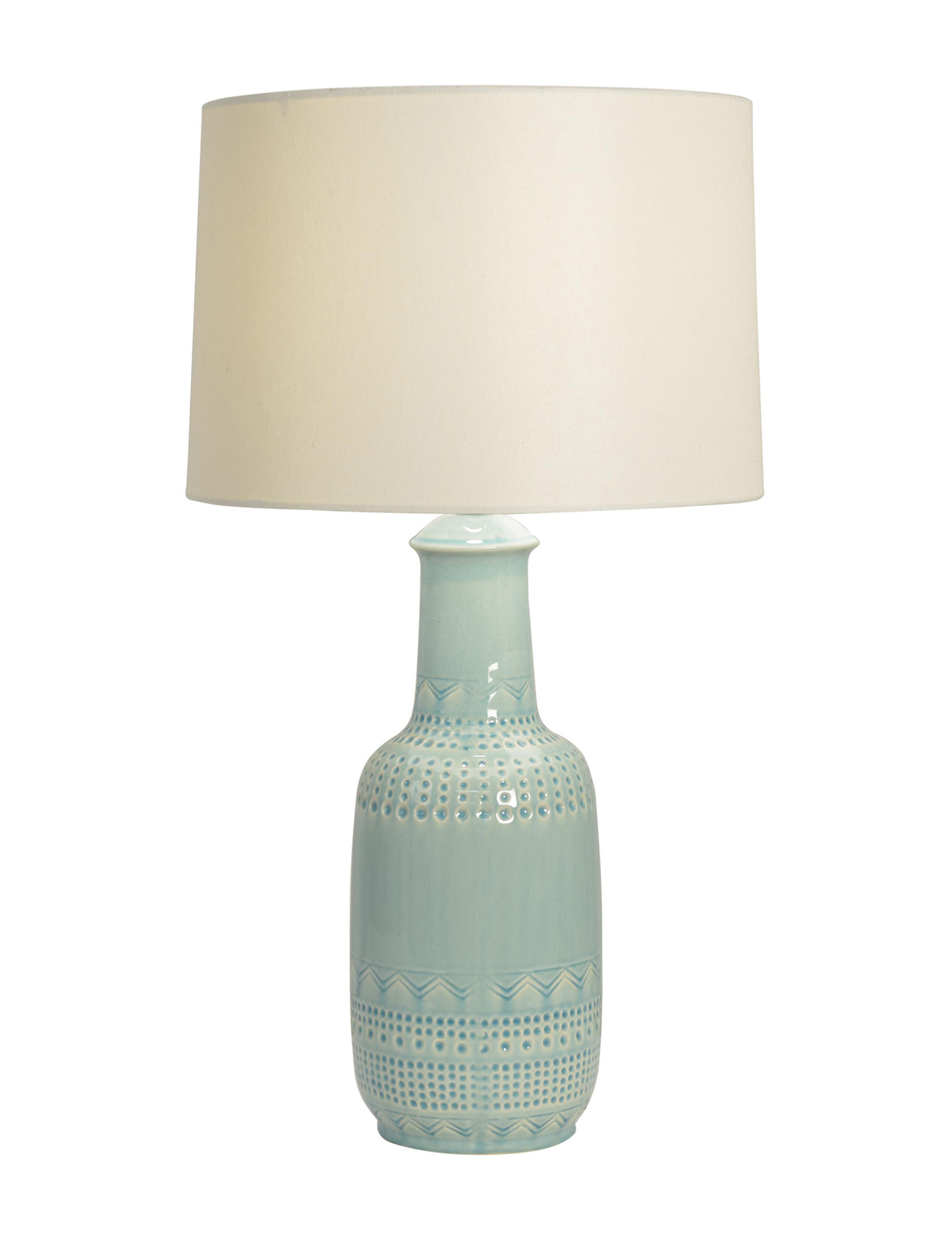 Decor Therapy Green Table Lamps Lighting & Lamps