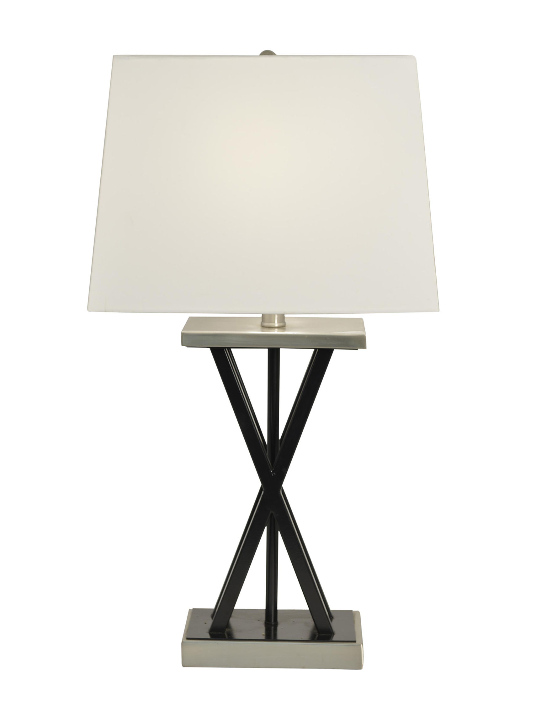 Decor Therapy Black Table Lamps Lighting & Lamps