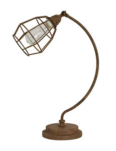 Decor Therapy Rust Desk Lamps Lighting & Lamps