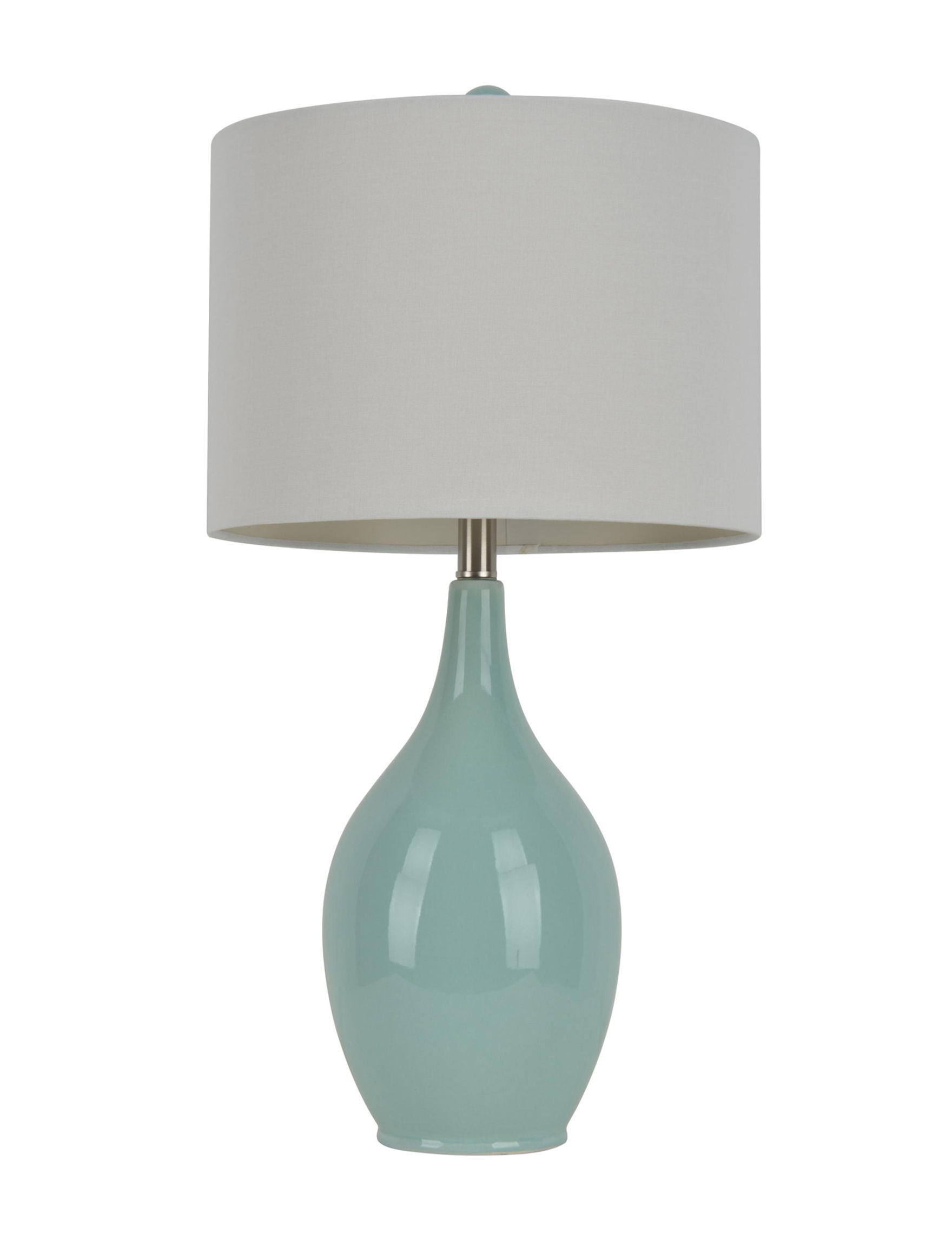 Decor Therapy Blue Table Lamps Lighting & Lamps