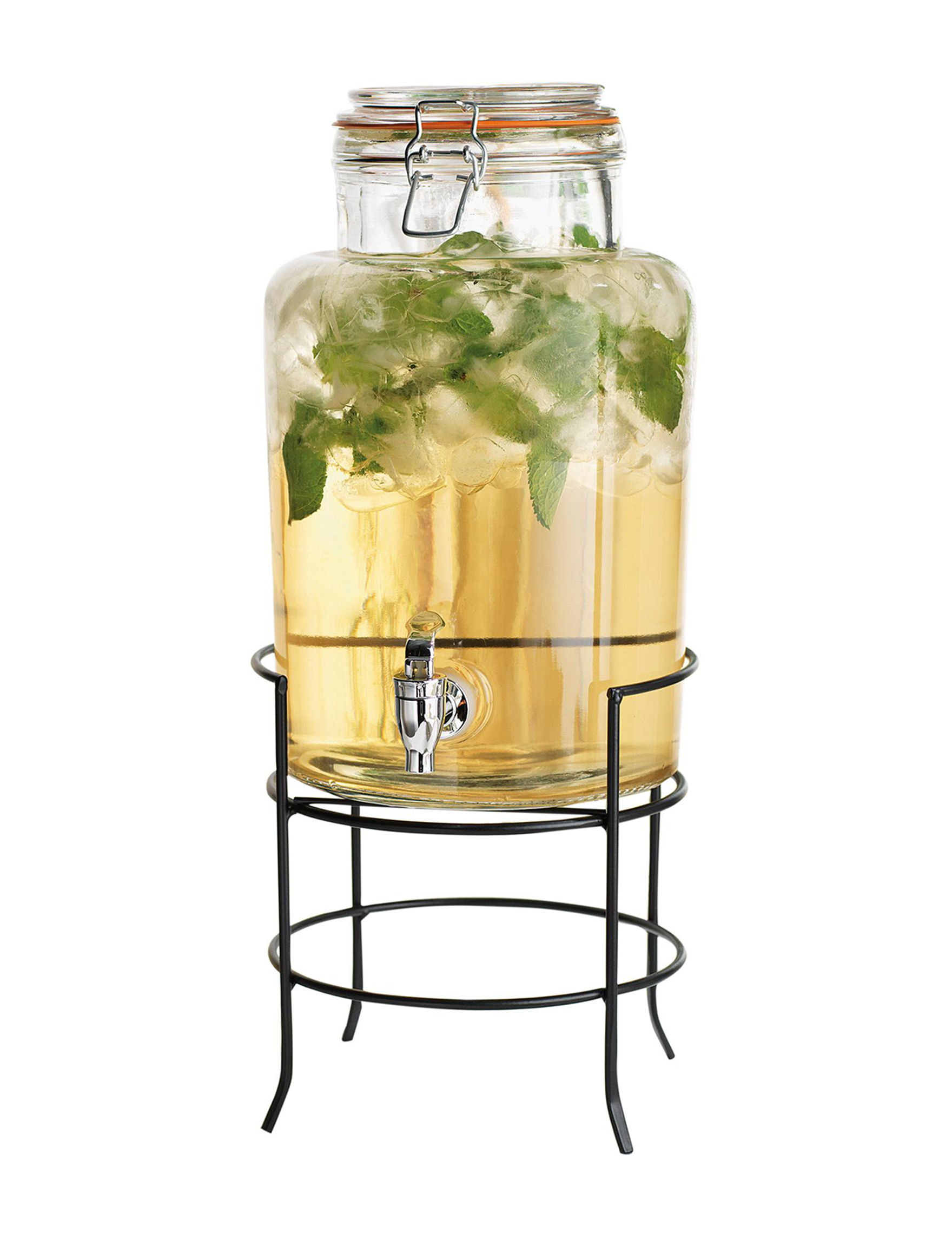 Home Essentials Clear Beverage Dispensers & Tubs Drinkware