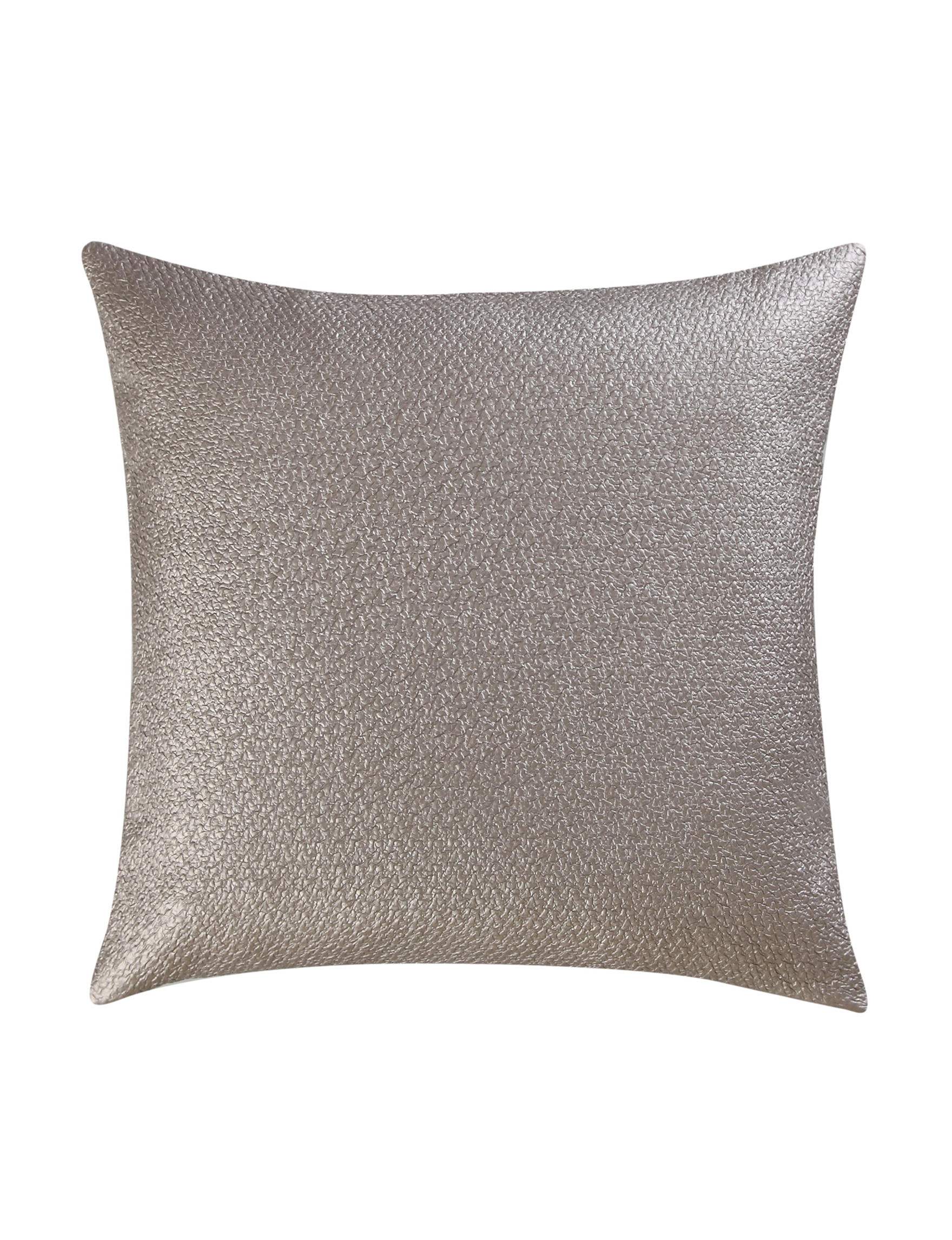 Vince Camuto Taupe Decorative Pillows