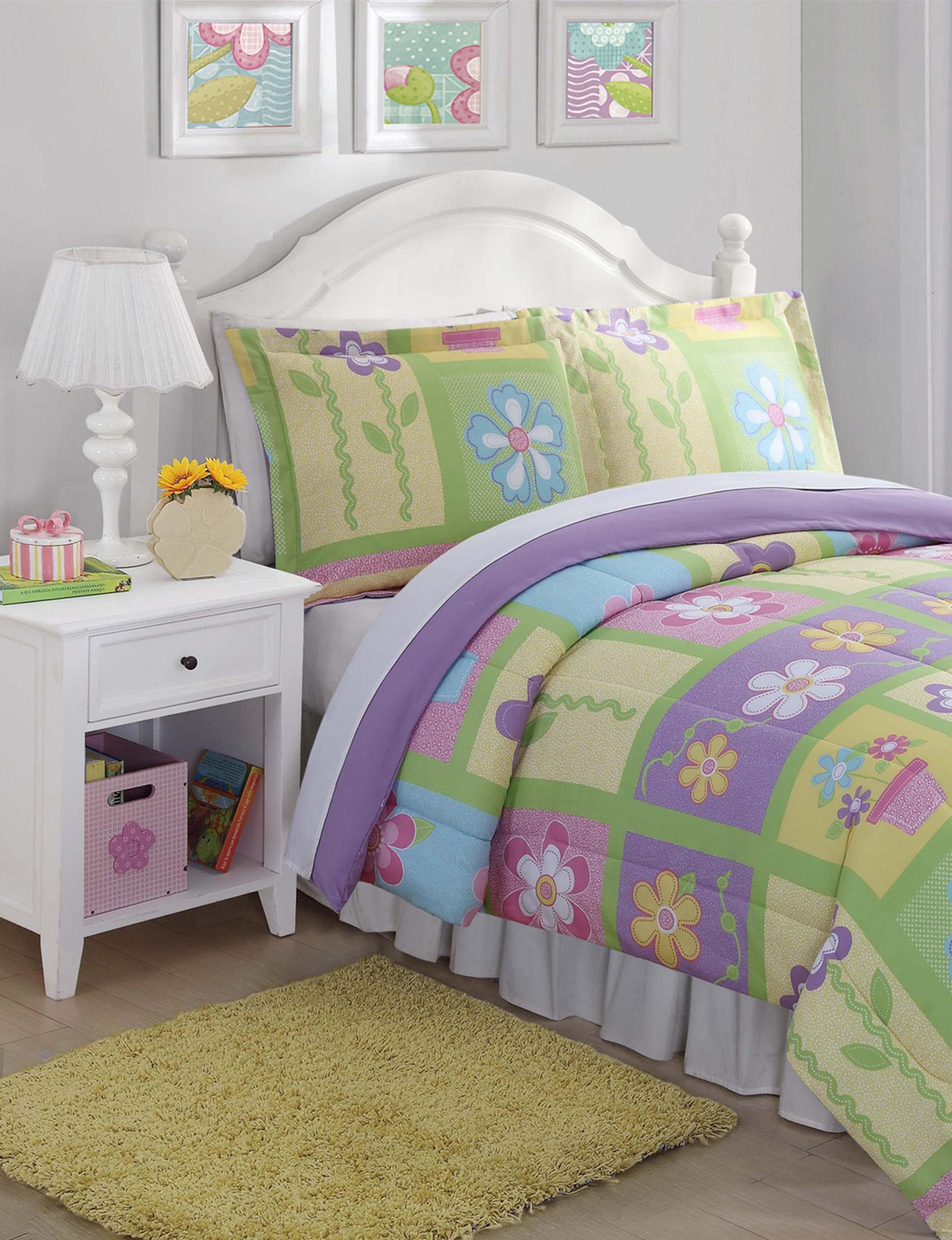 Laura Hart Kids Yellow Comforters & Comforter Sets