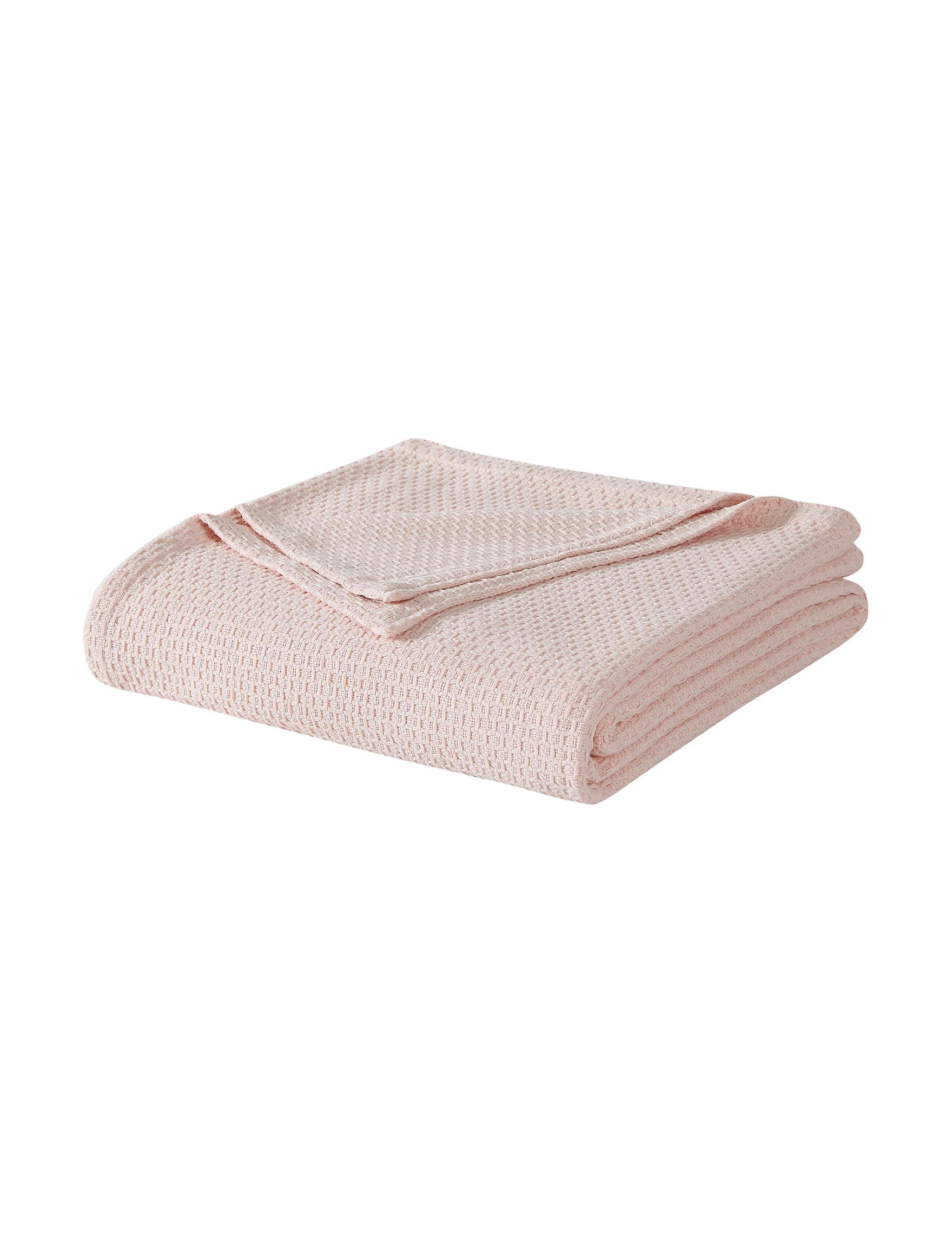 Laura Ashley Pink Blankets & Throws