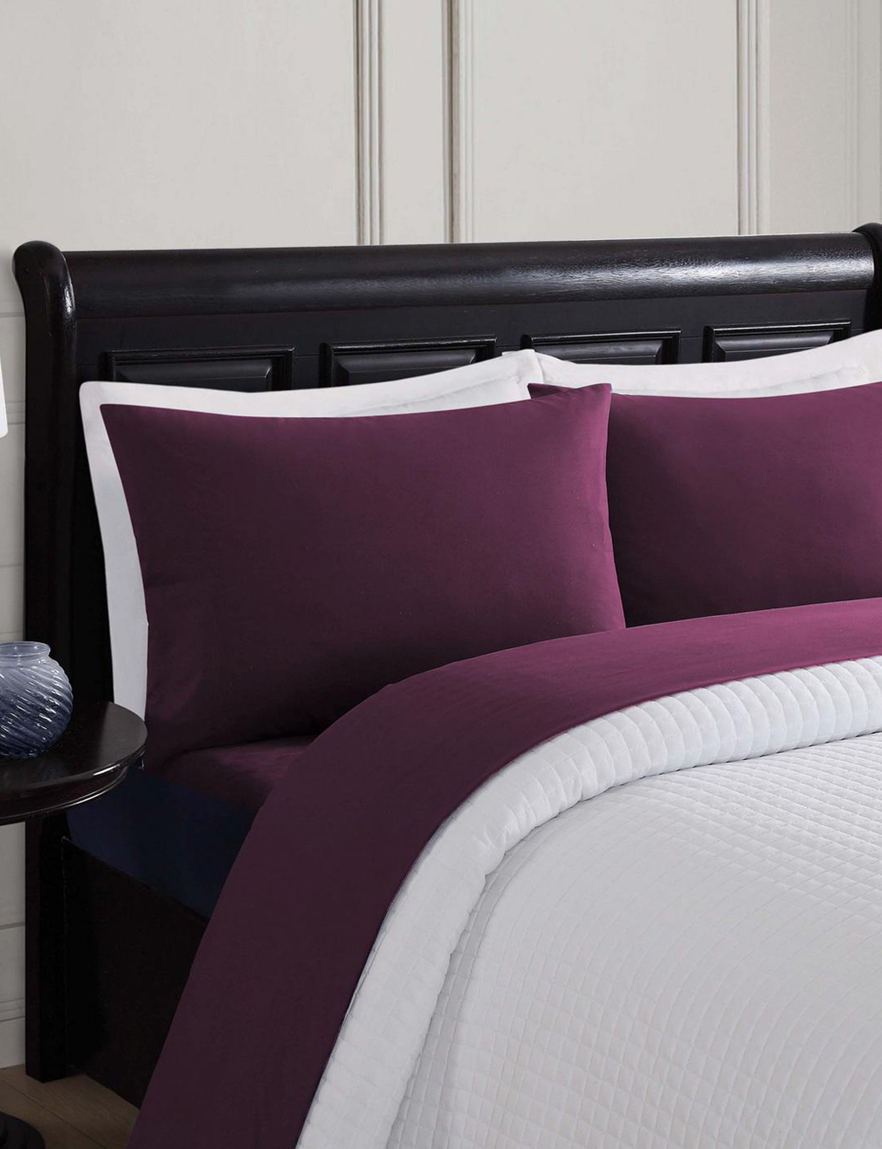 London Fog Purple Sheets & Pillowcases