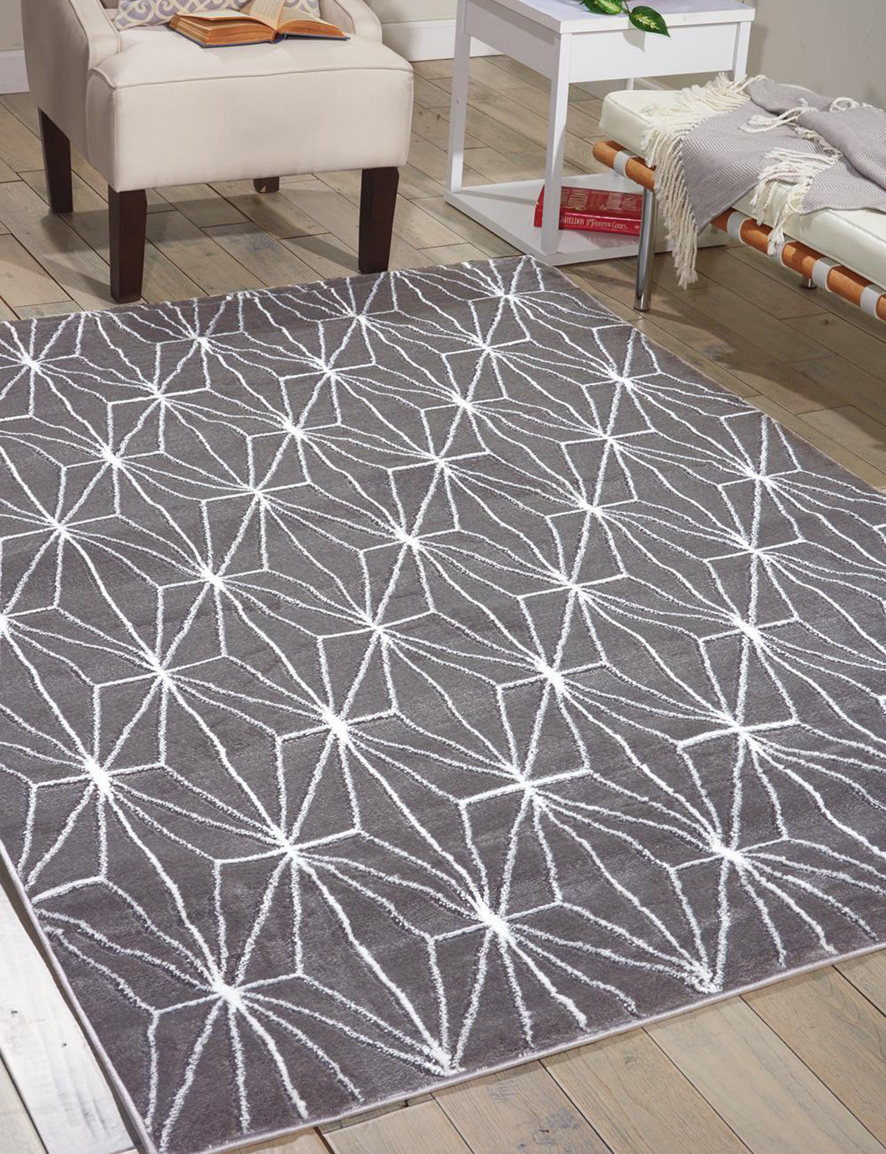 Nourison Charcoal Area Rugs Runners Rugs