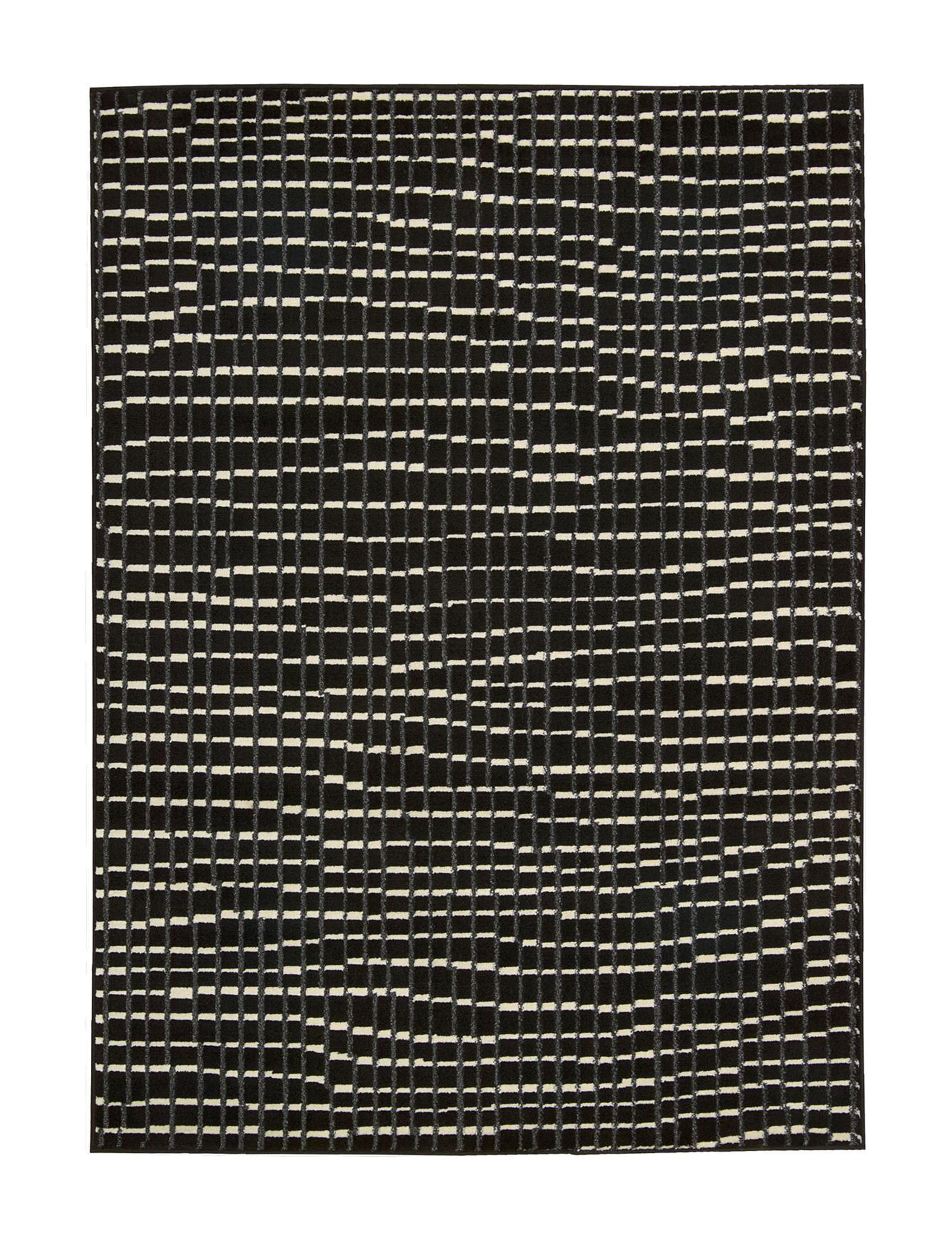 Nourison Black Area Rugs Runners Rugs