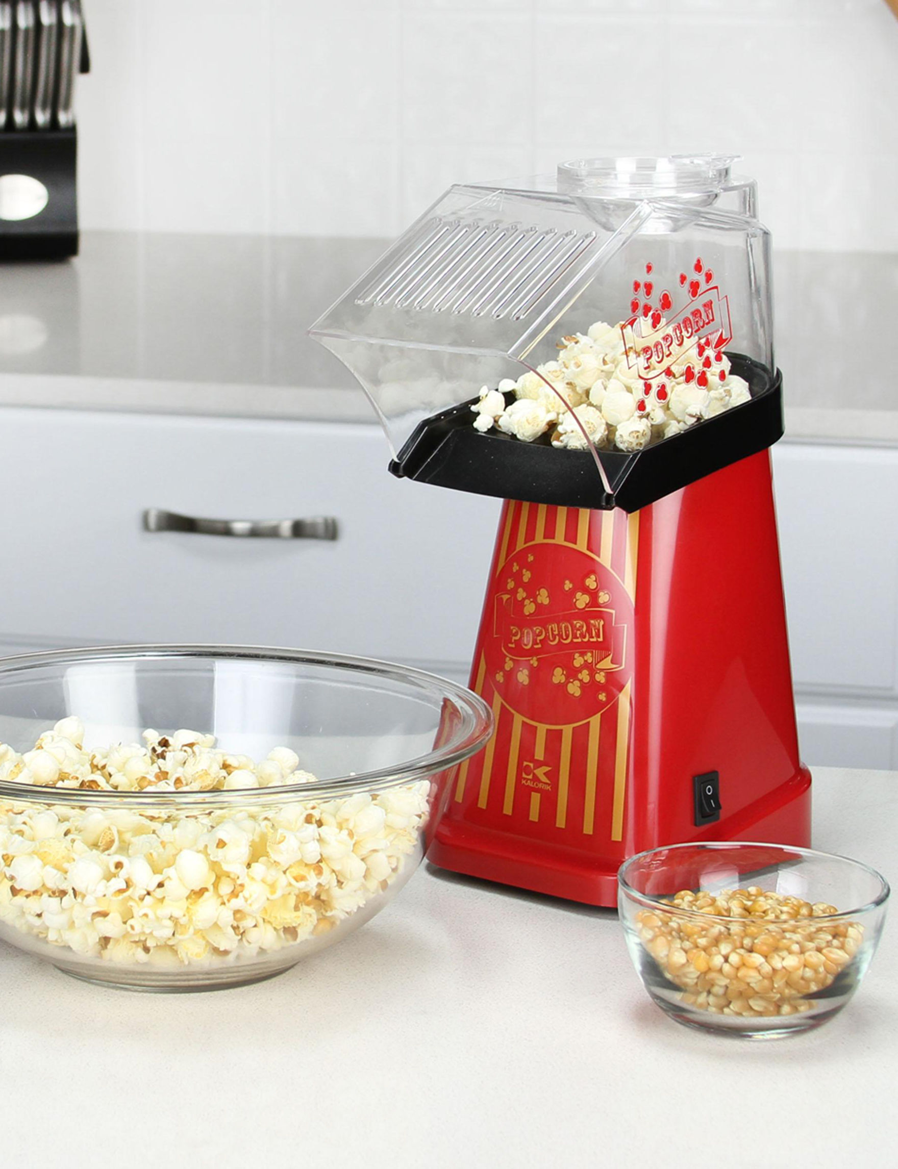 Kalorik Red Specialty Food Makers Kitchen Appliances