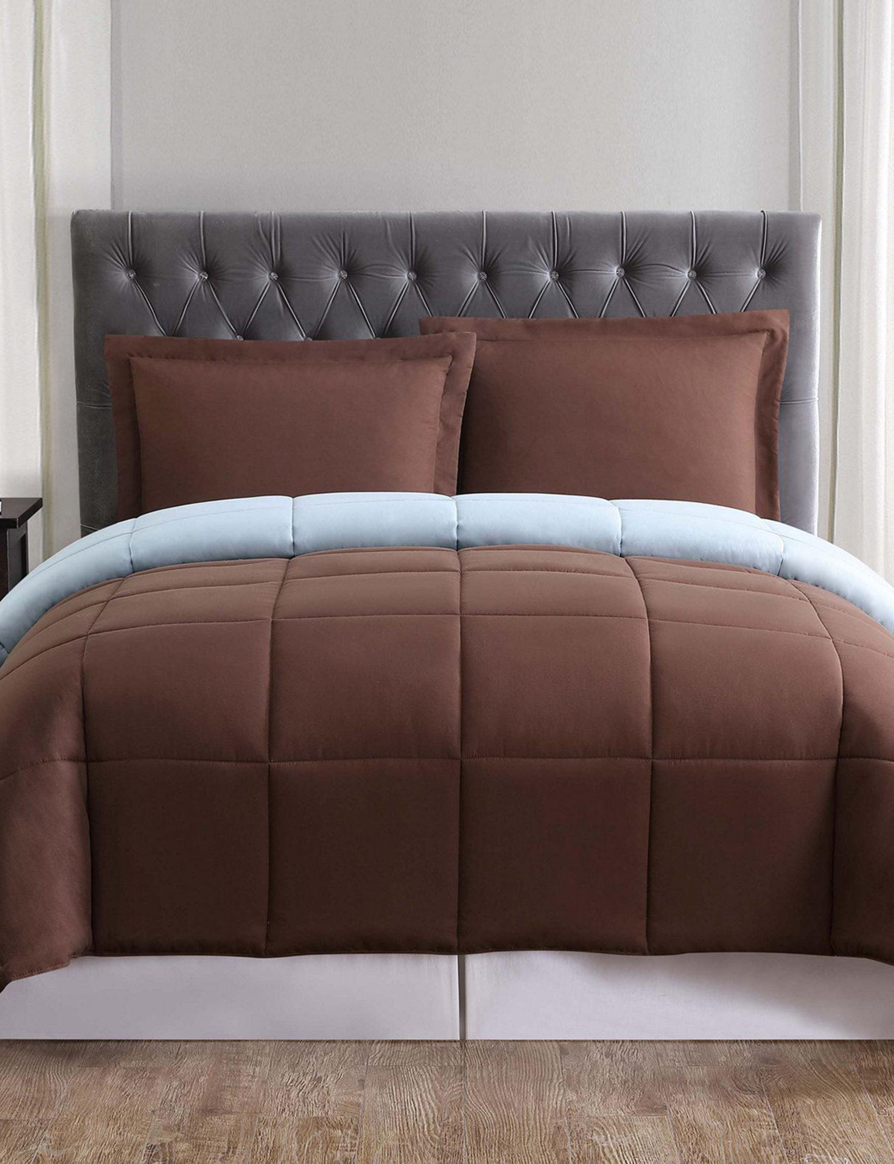 Truly Soft Brown Comforters & Comforter Sets