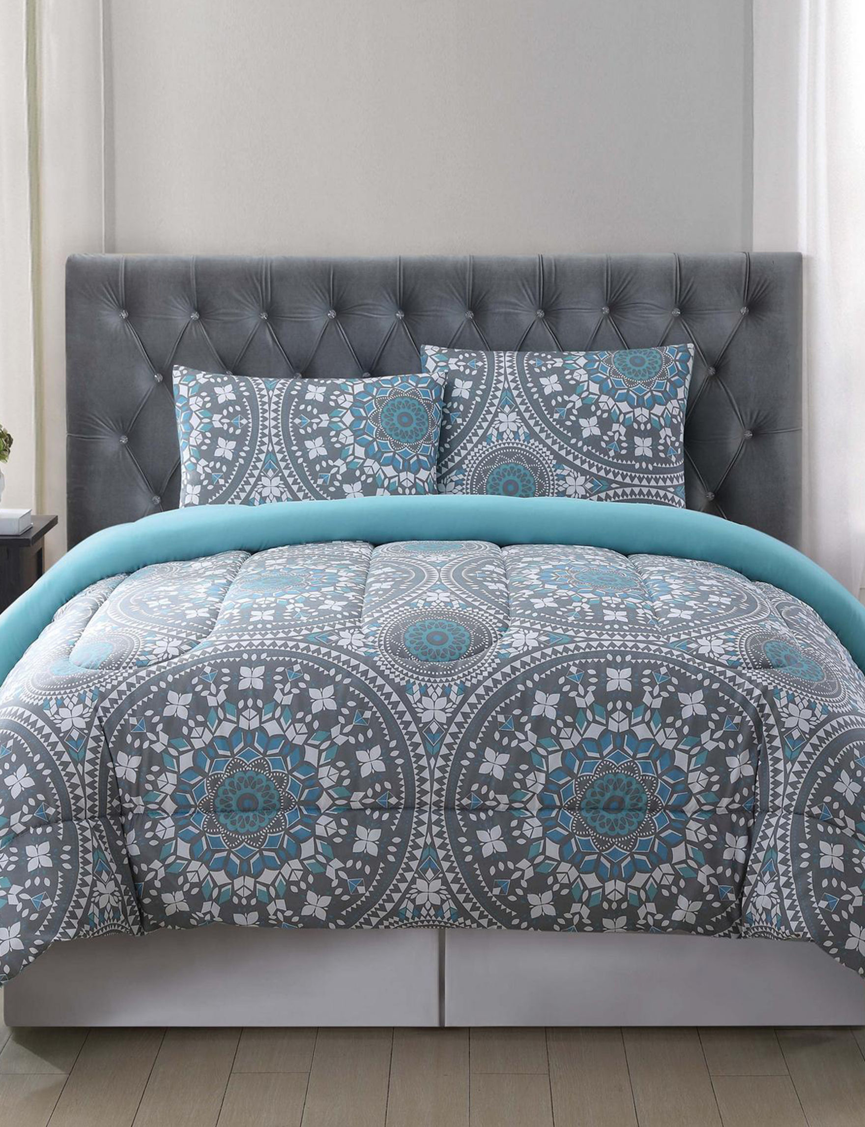 Truly Soft Grey Multi Comforters & Comforter Sets