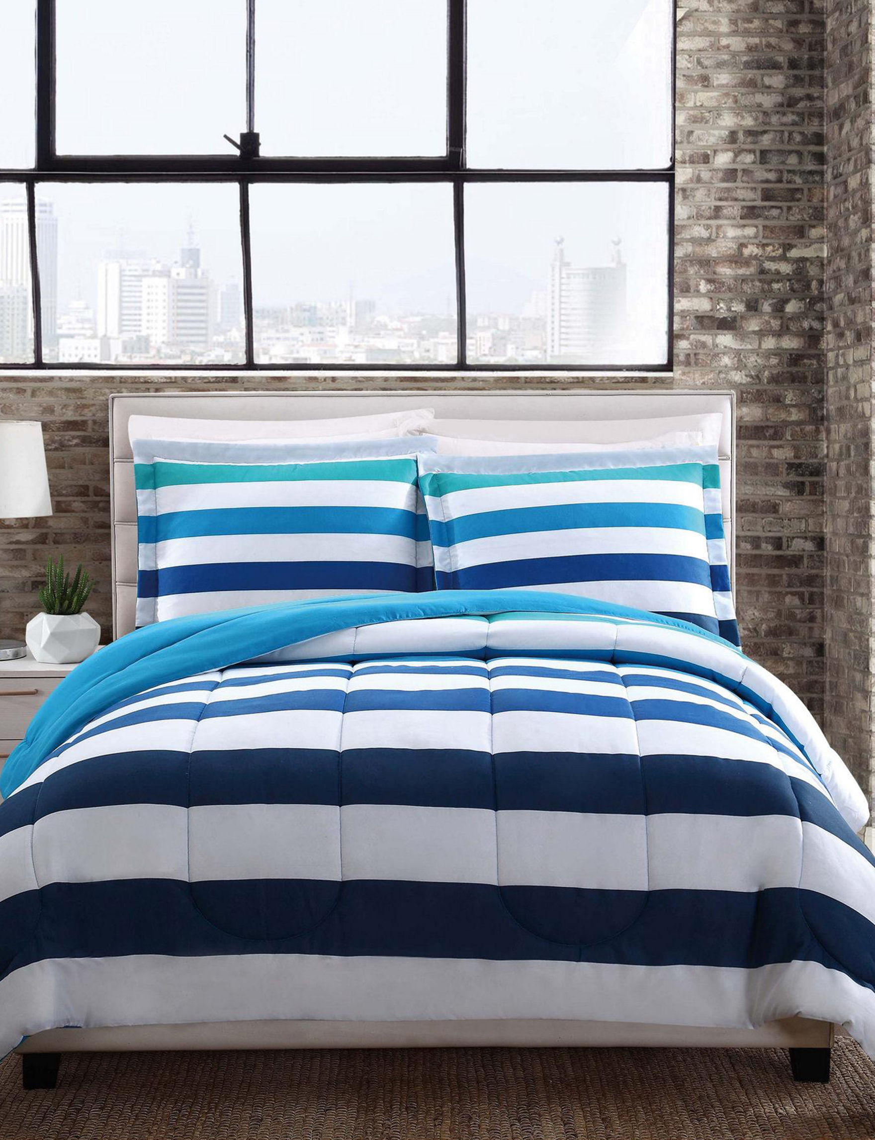 Style 212 Blue Comforters & Comforter Sets