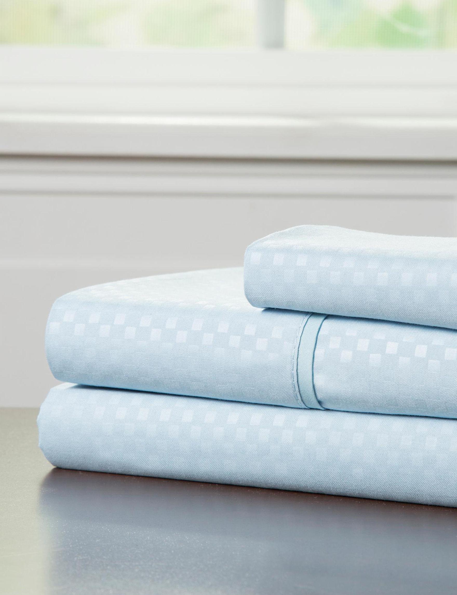 Lavish Home Blue Sheets & Pillowcases