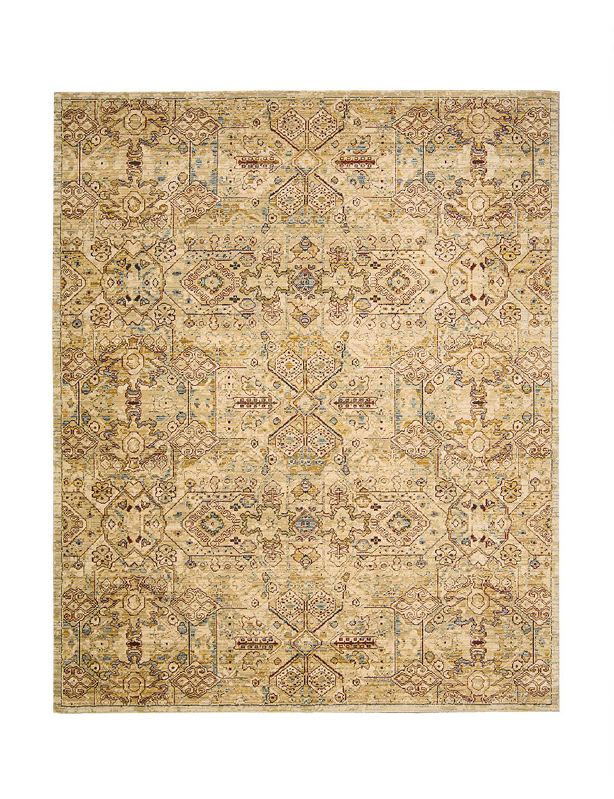 Nourison Light Gold Area Rugs Rugs