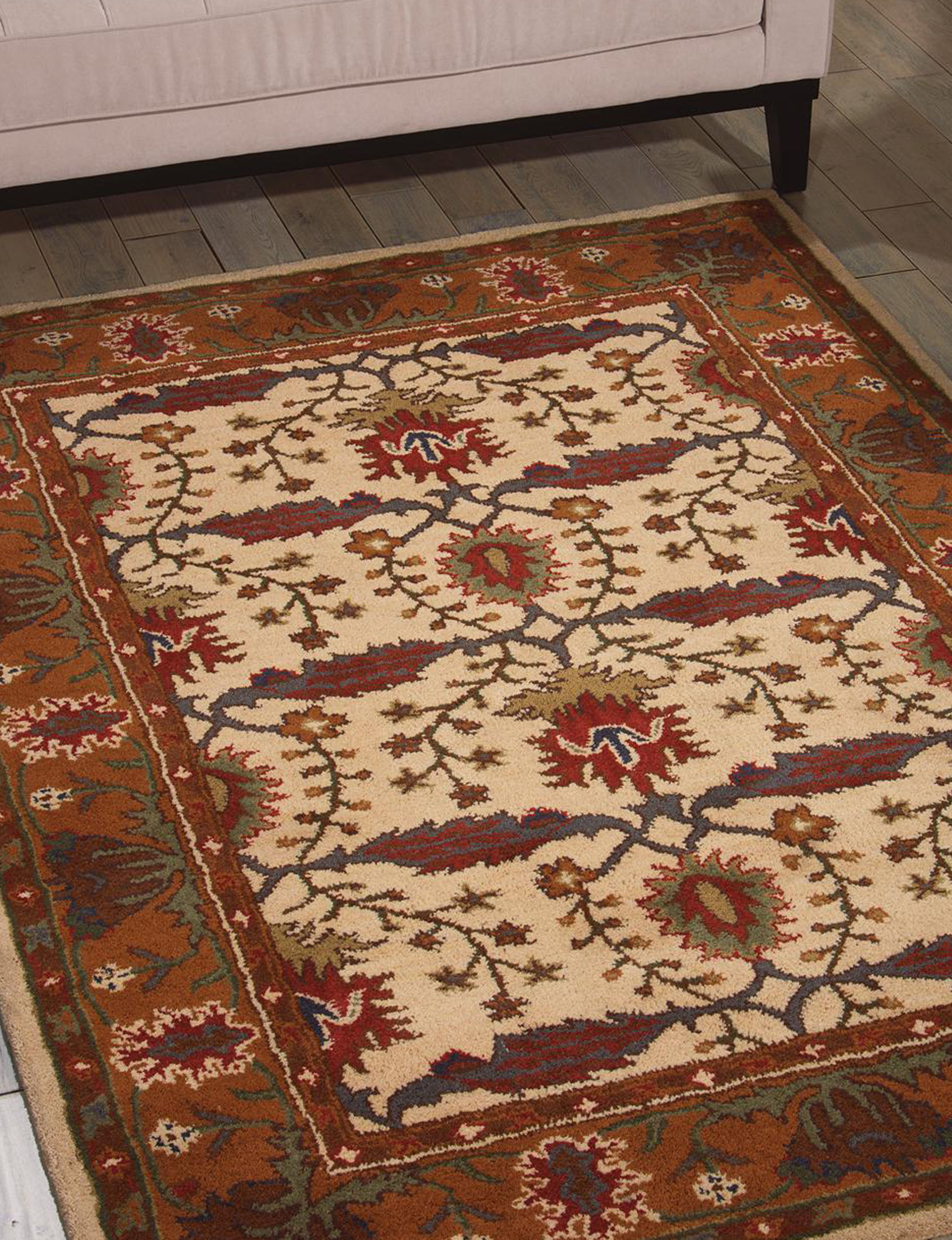 Nourison Brown Accent Rugs Area Rugs Rugs