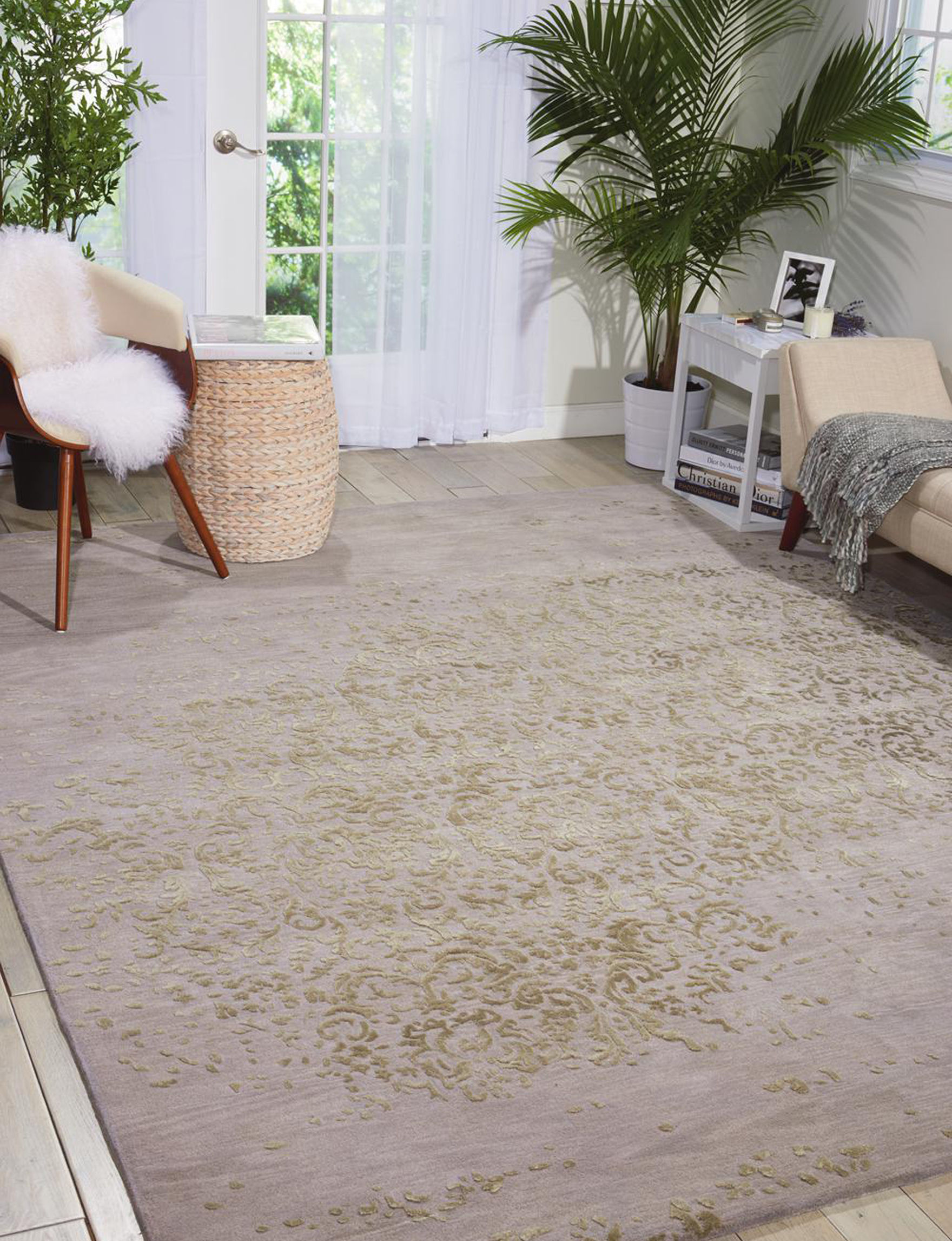 Nourison Silver Area Rugs Rugs