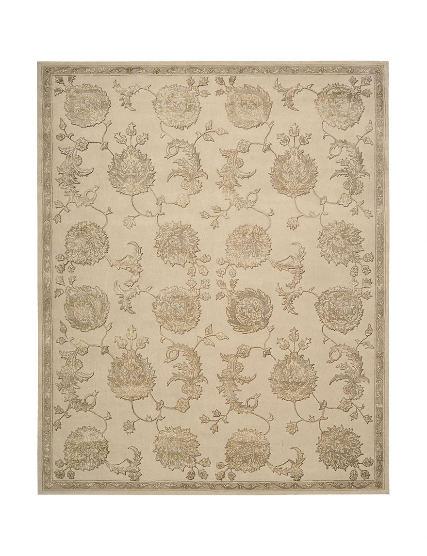 Nourison Tan Area Rugs Runners Rugs