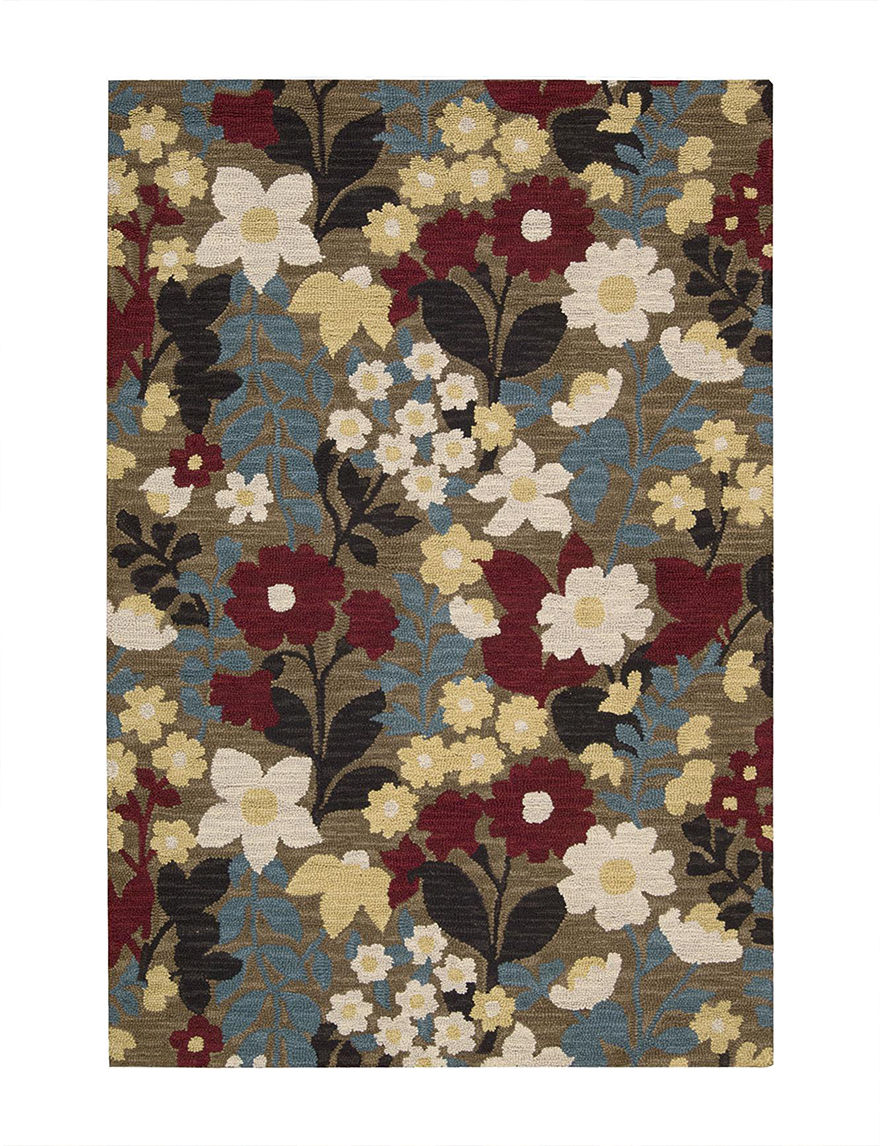 Nourison Brown Accent Rugs Area Rugs Runners Rugs
