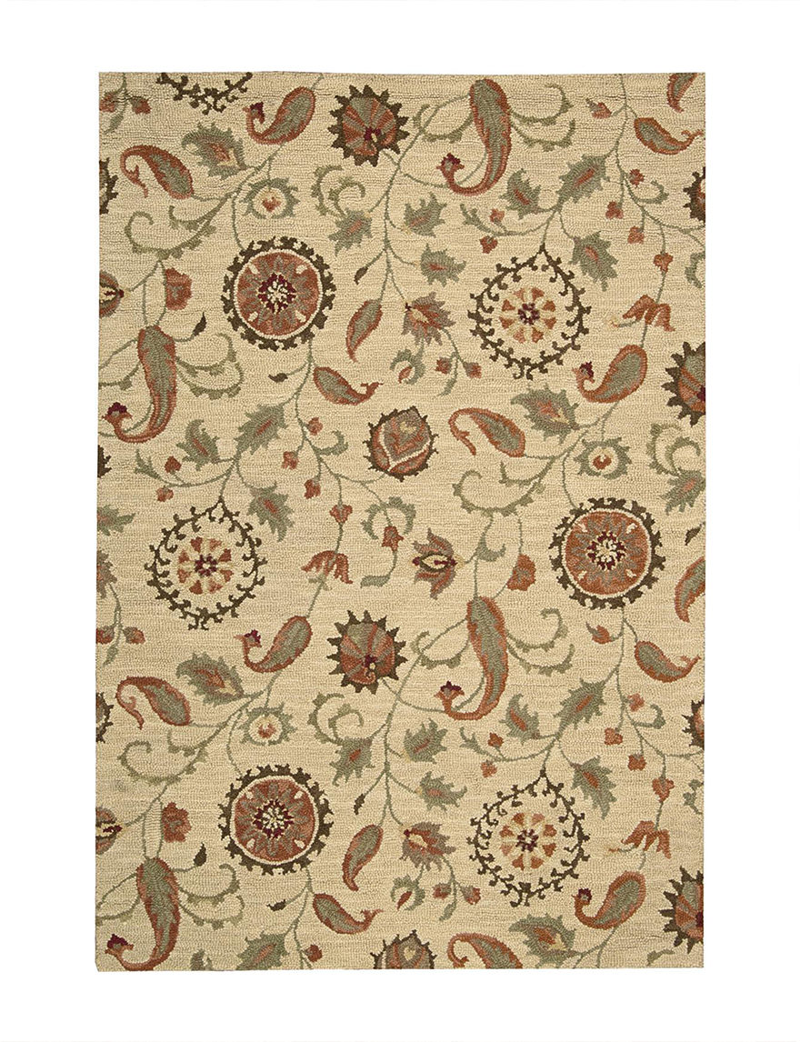 Nourison Beige Accent Rugs Area Rugs Runners Rugs