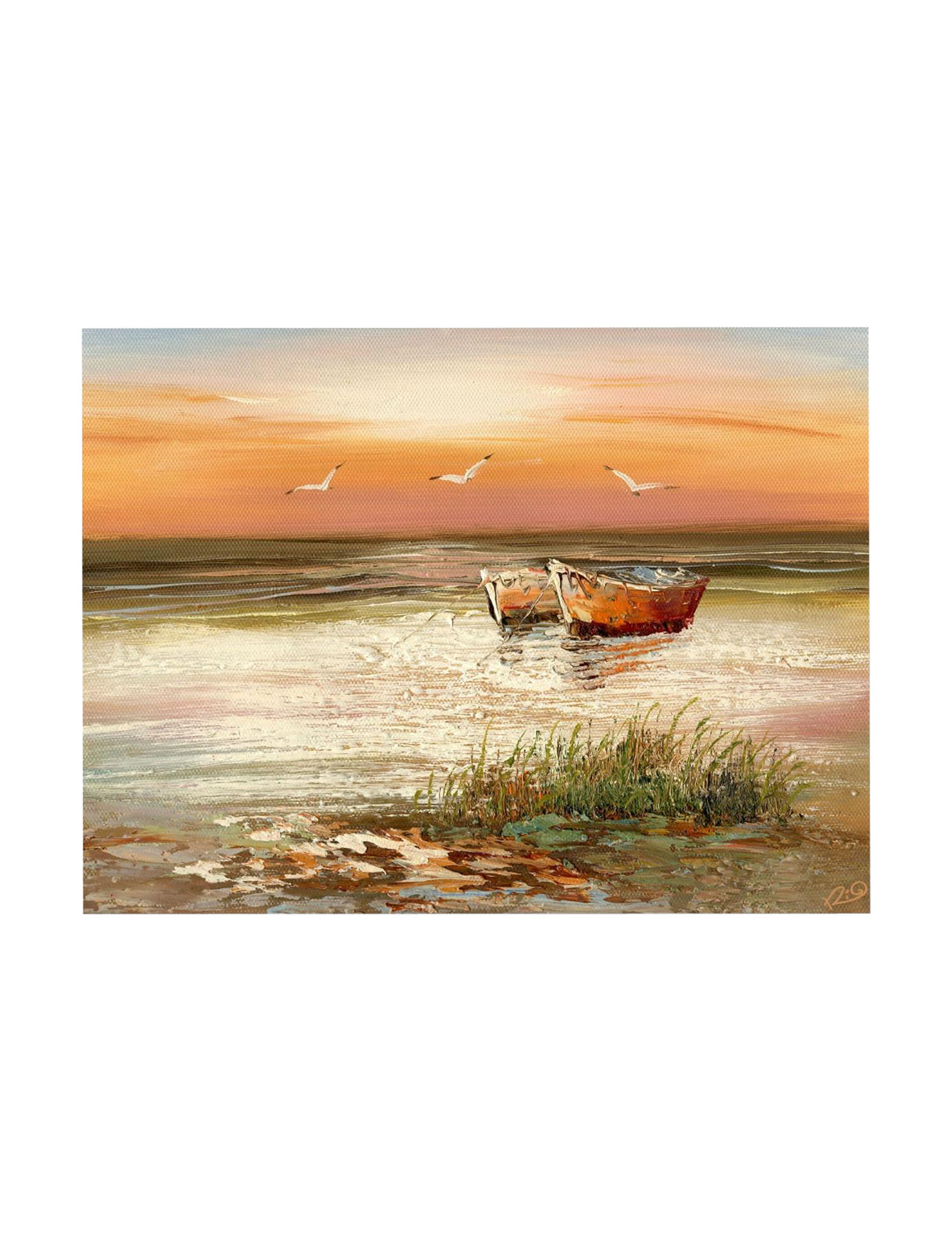 Trademark Fine Art Orange Wall Decor