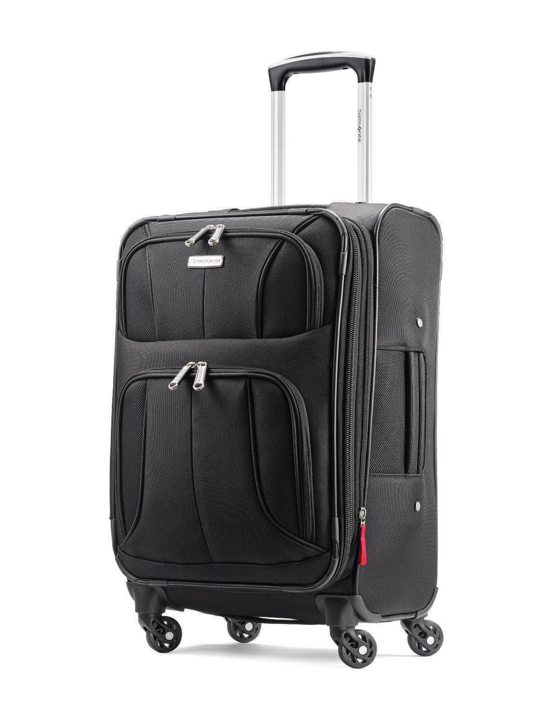 Samsonite Black Softside Upright Spinners