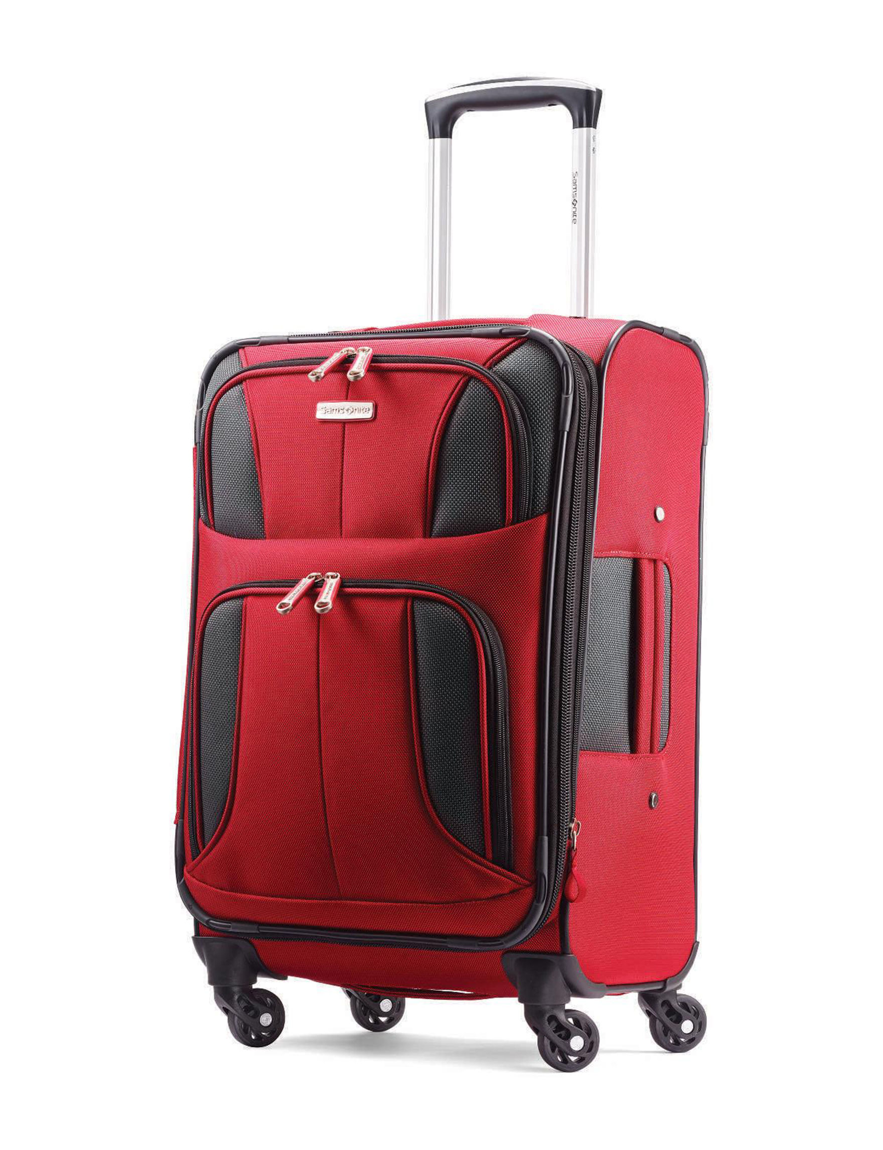 Samsonite Red Upright Spinners