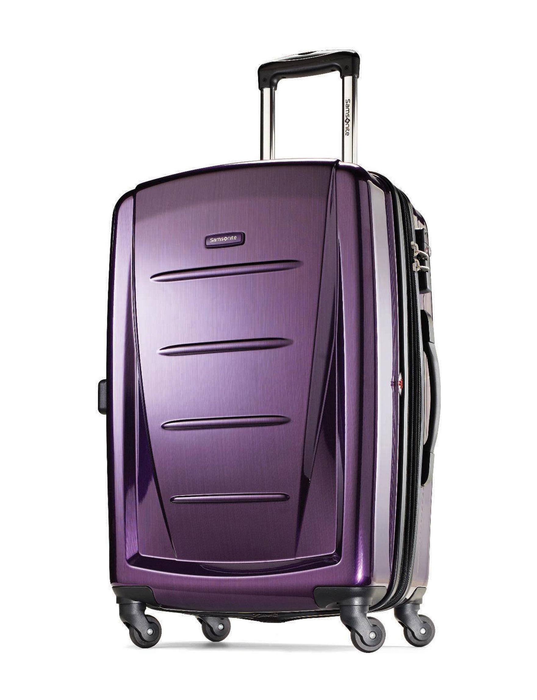 Samsonite Purple Upright Spinners