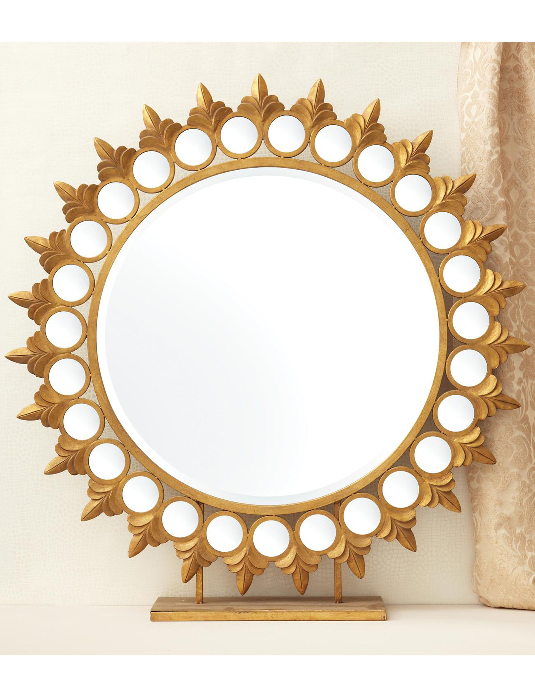 Two's Company Gold Mirrors Home Accents