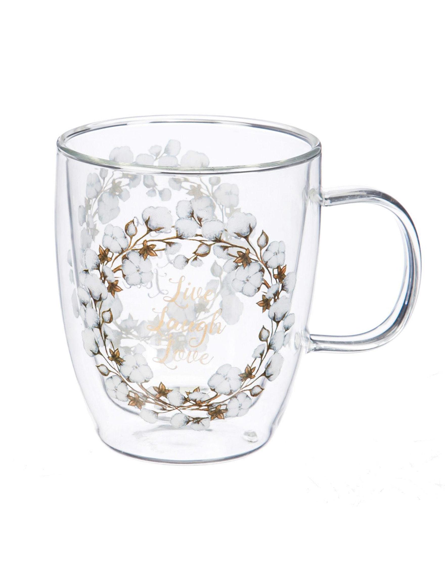 Evergreen Clear Mugs Drinkware