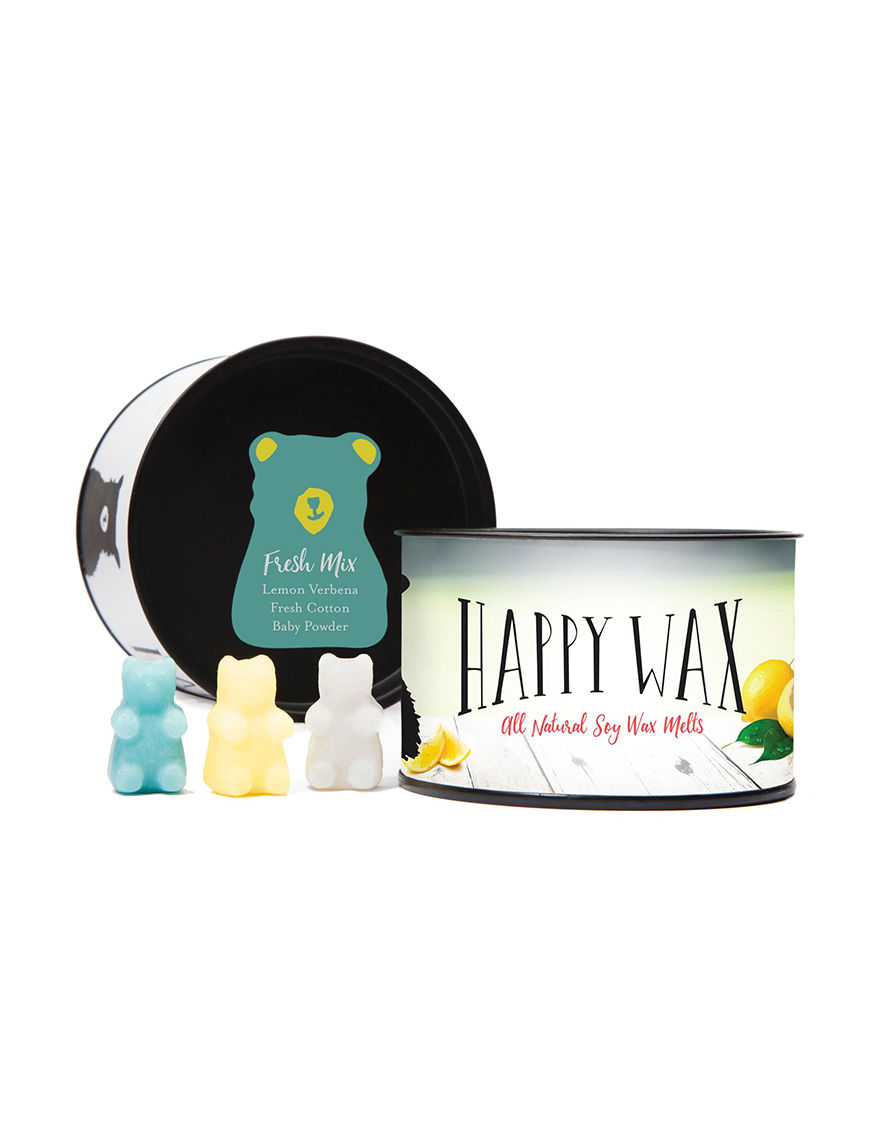 Happy Wax Clear Accessories Wax Melts & Oils Candles & Diffusers