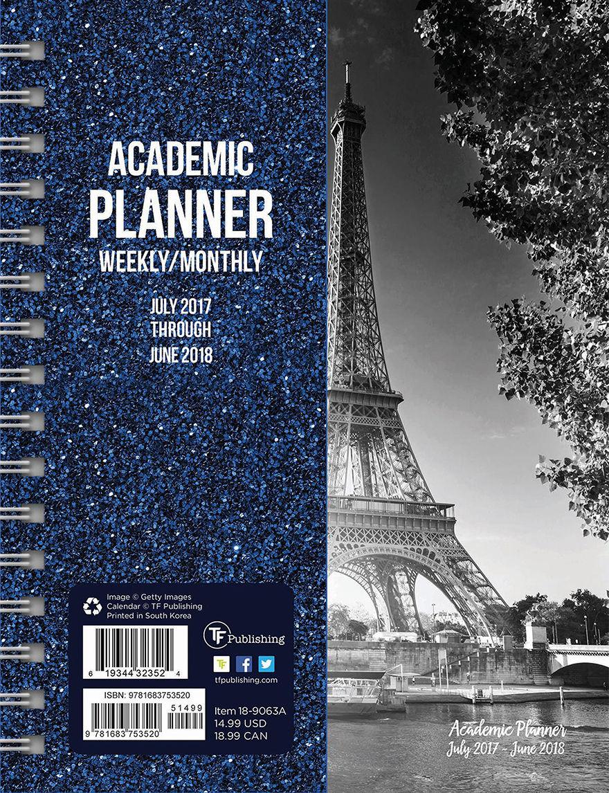 TFI Publishing Grey Calendars & Planners School & Office Supplies