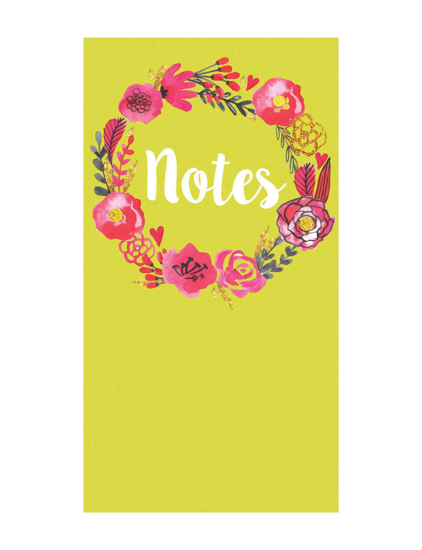 TF Publishing Light Green Journals & Notepads School & Office Supplies