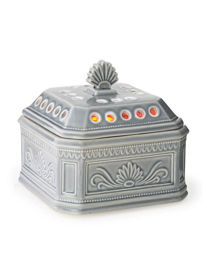 Candle Warmers Grey Warmers & Plug Ins Candles & Diffusers Home Accents