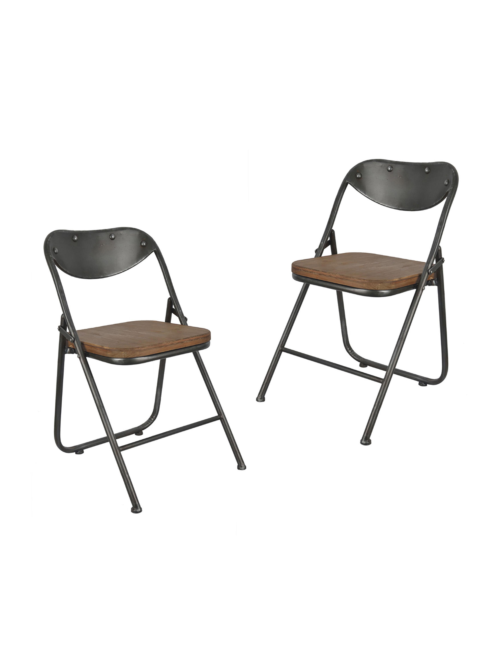 Decor Therapy Brown / Grey Patio & Outdoor Furniture