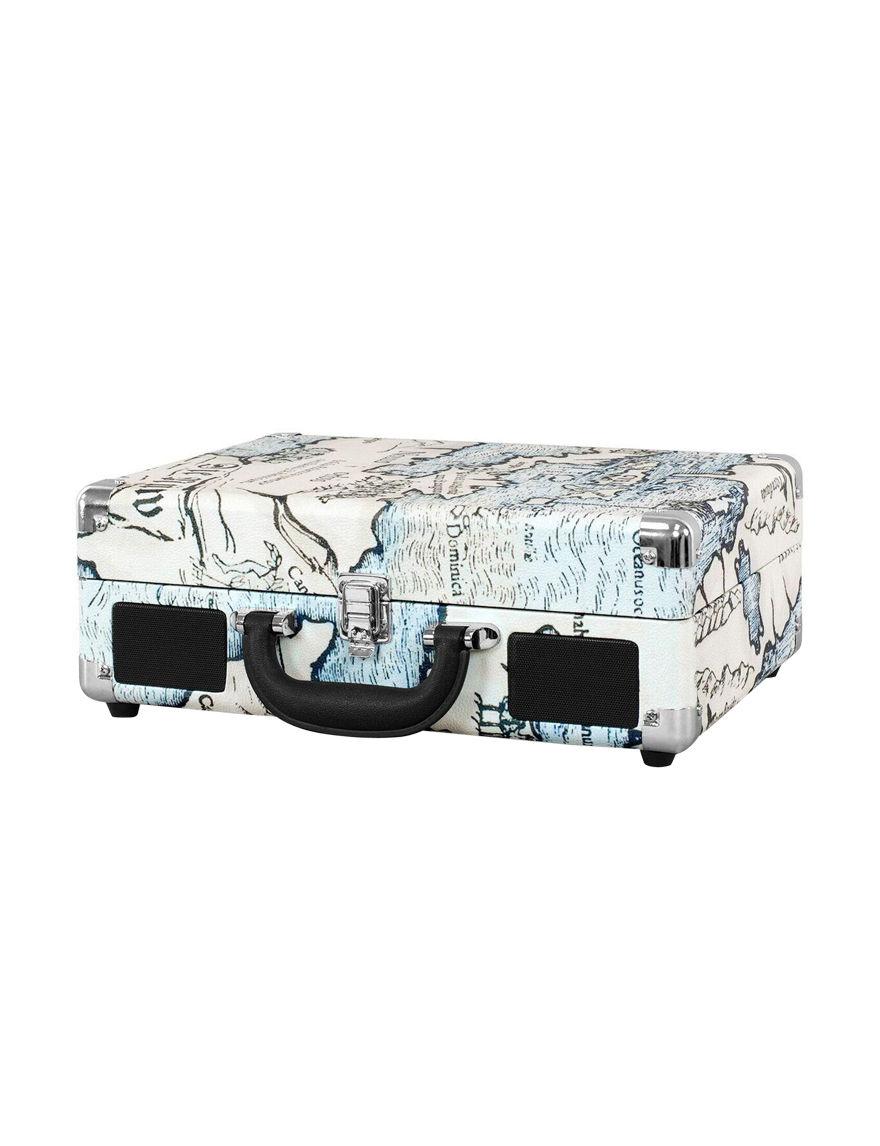 Victrola Beige Speakers & Docks Turntables Home & Portable Audio