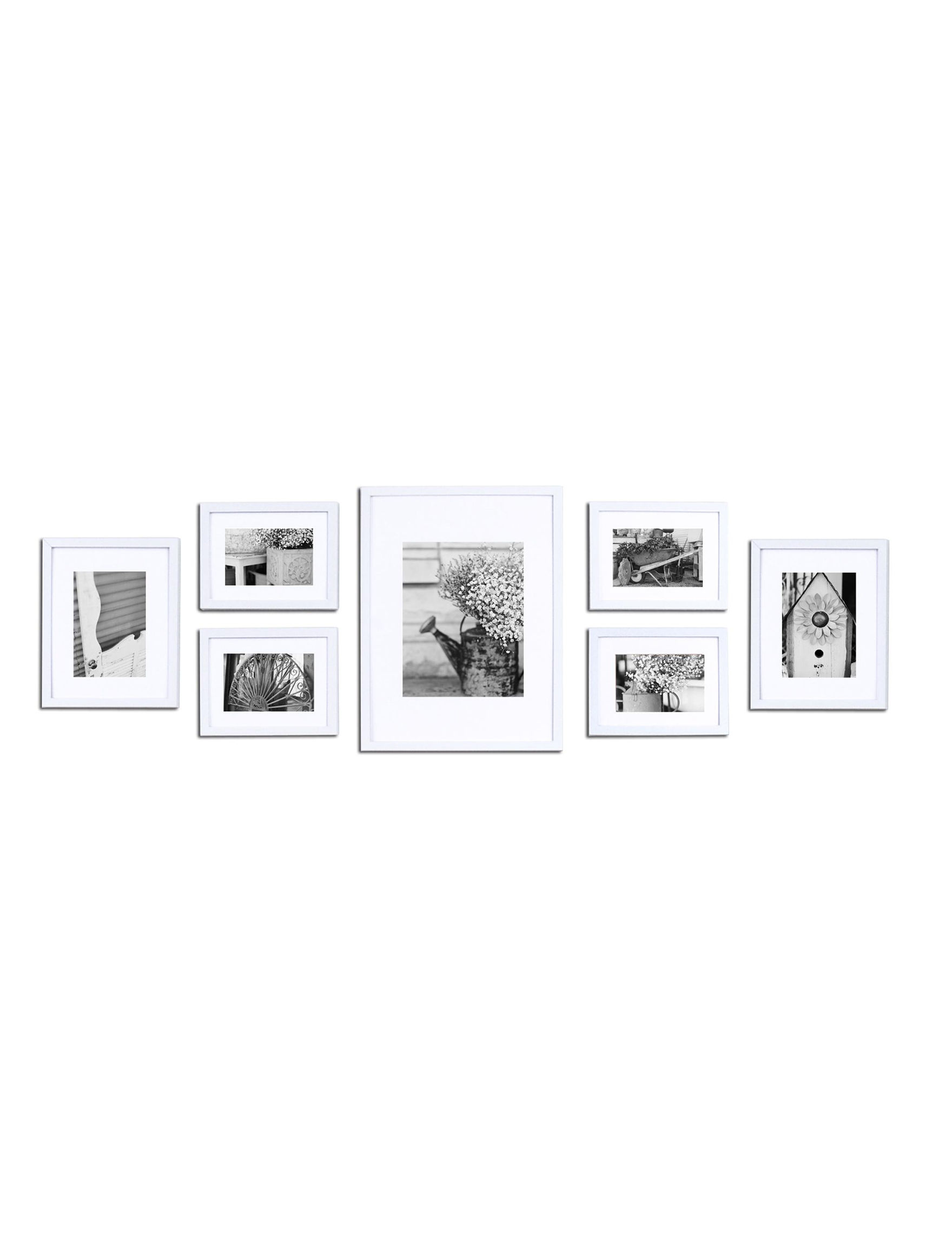 Gallery Perfect White Frames & Shadow Boxes Home Accents