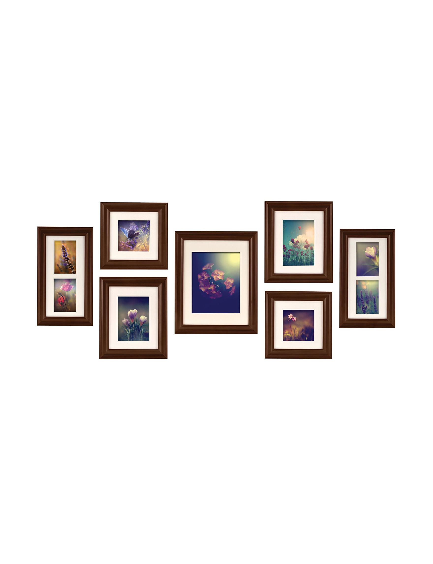 Gallery Perfect Walnut Frames & Shadow Boxes Home Accents