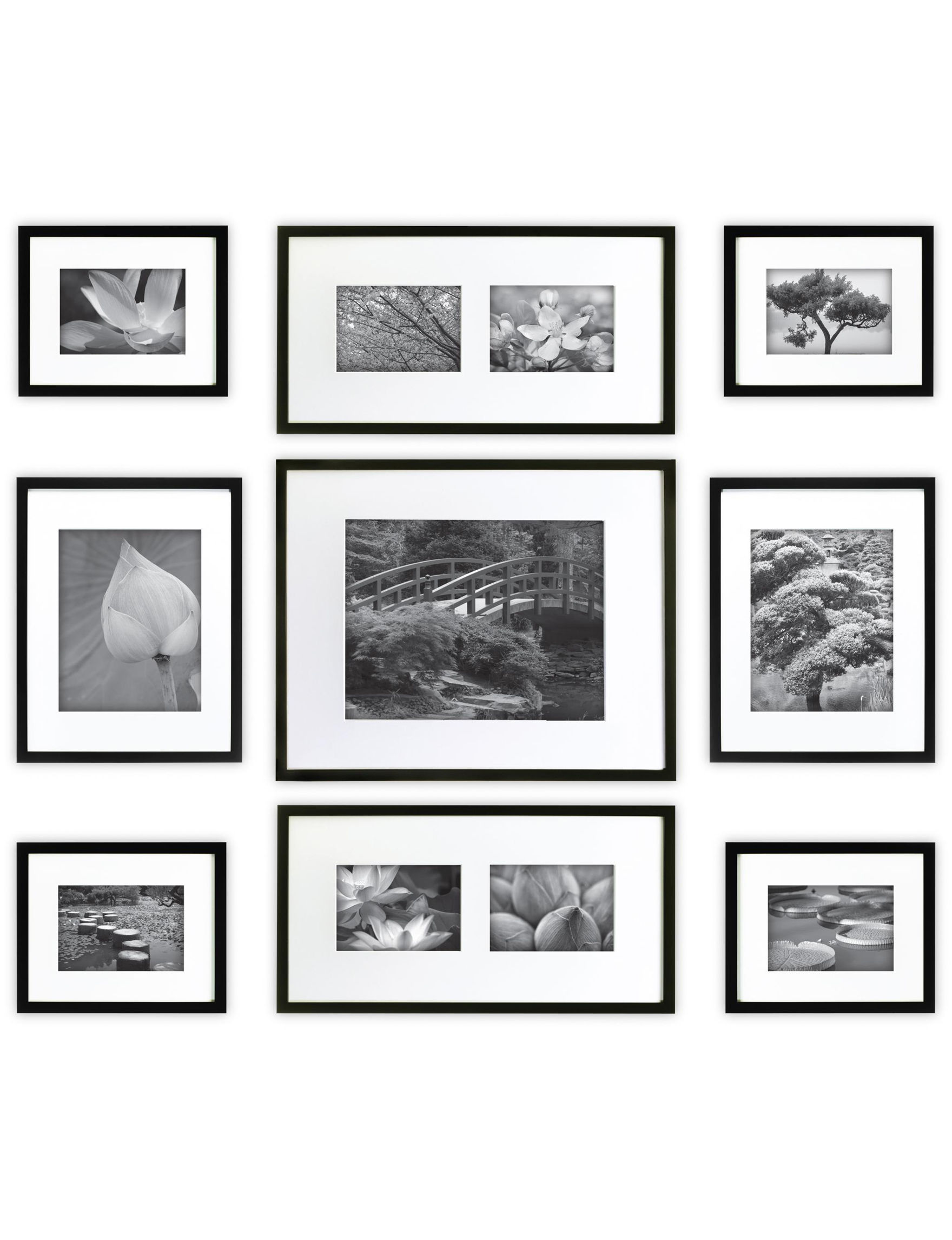 Gallery Perfect Black Frames & Shadow Boxes Home Accents