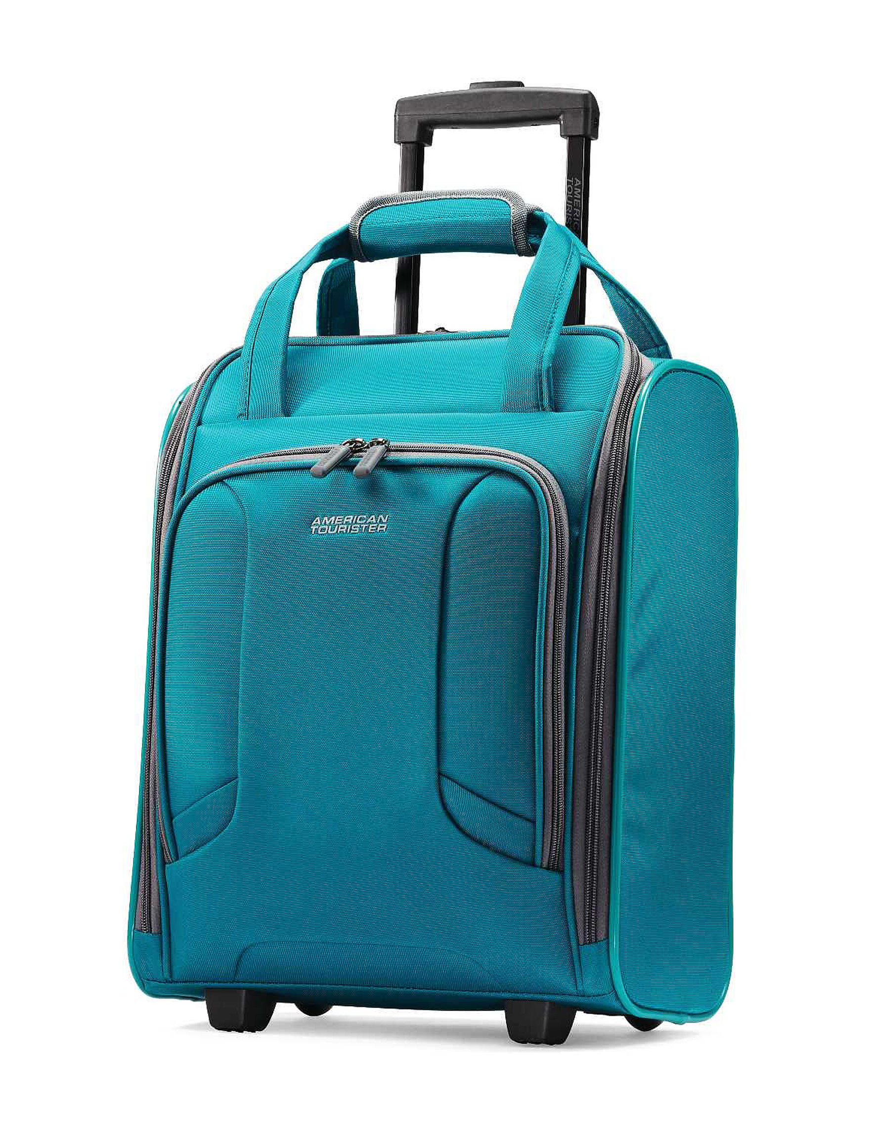 American Tourister Teal Weekend Bags