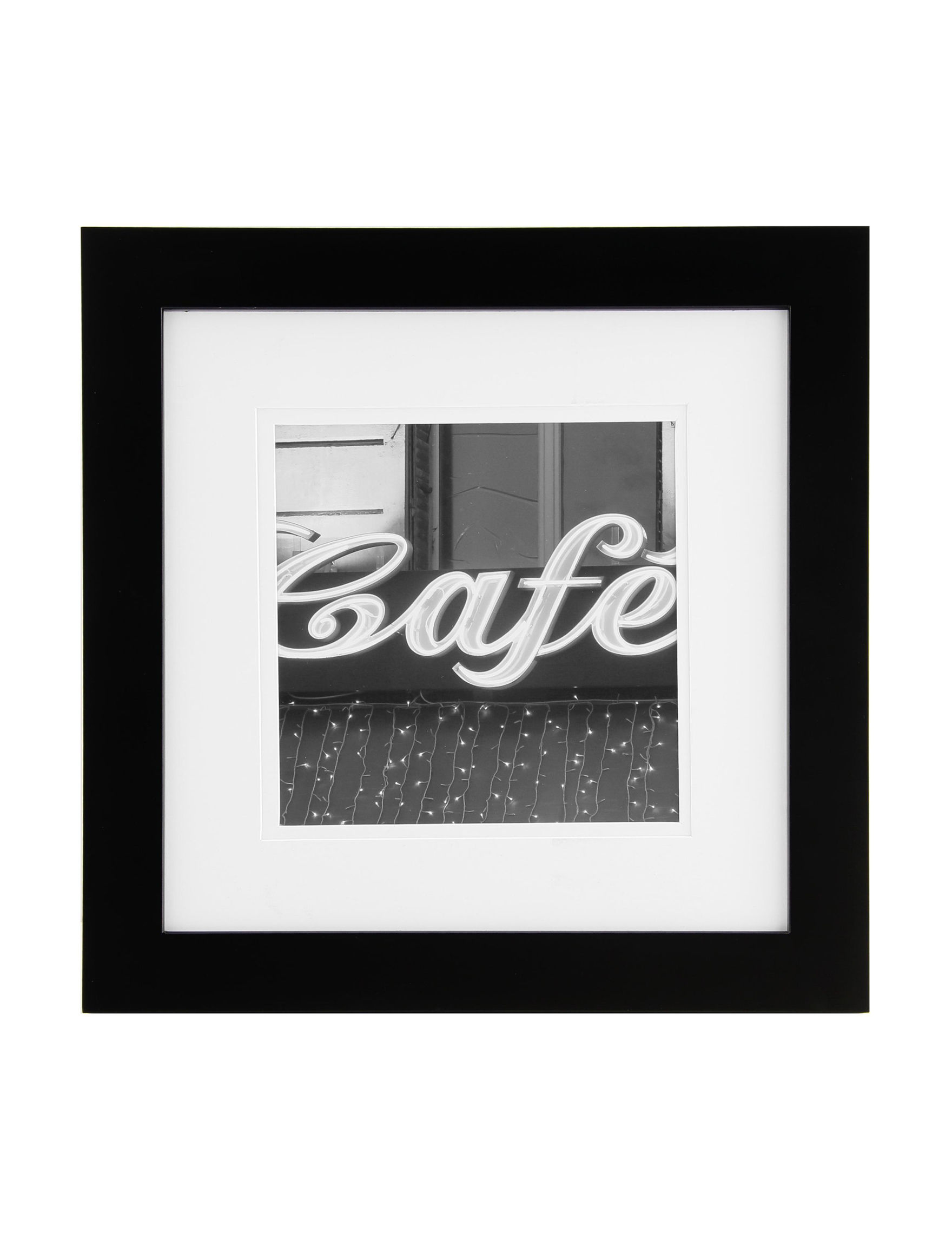 Gallery Solutions Black Frames & Shadow Boxes Home Accents