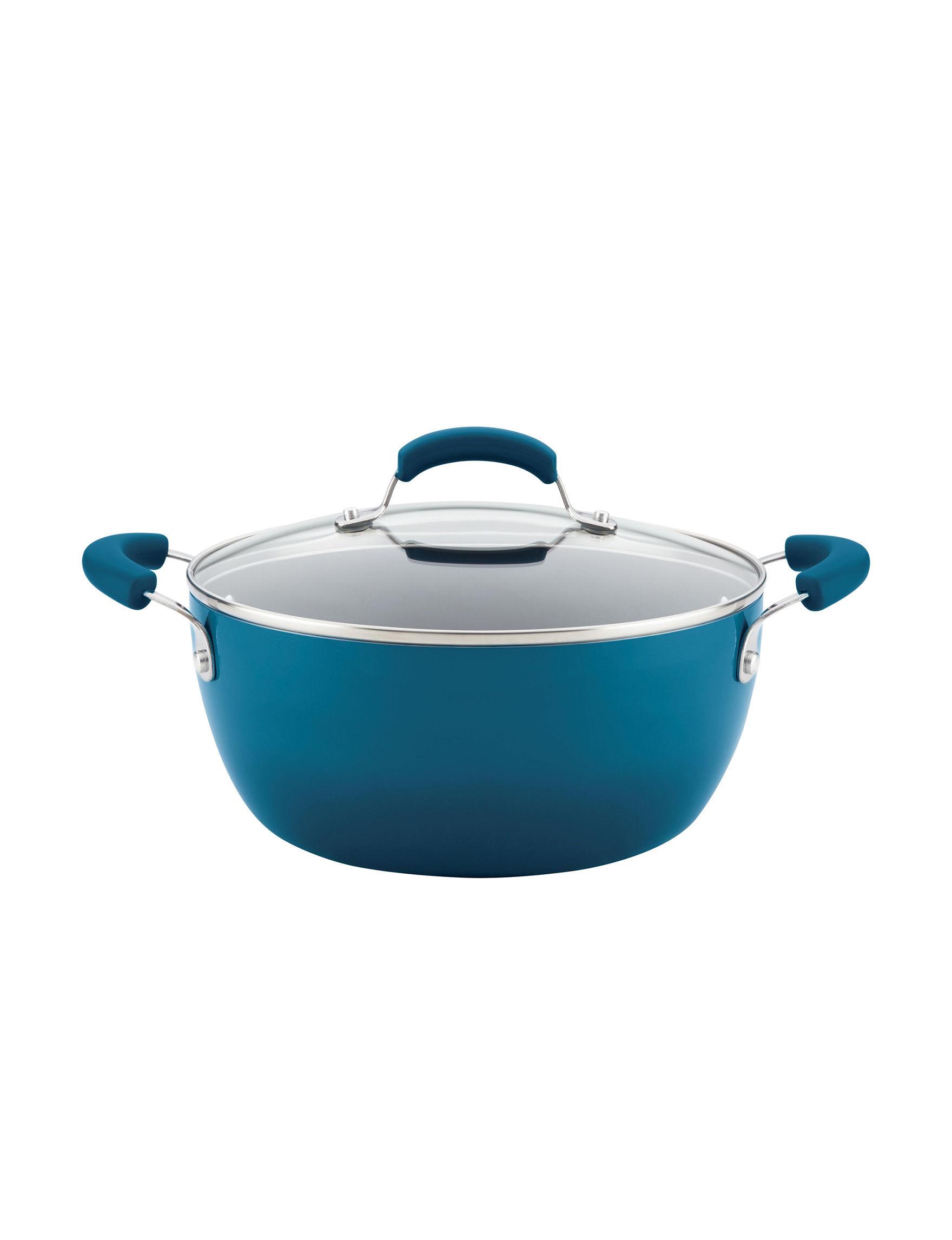 Rachael Ray Blue Pots & Dutch Ovens Cookware
